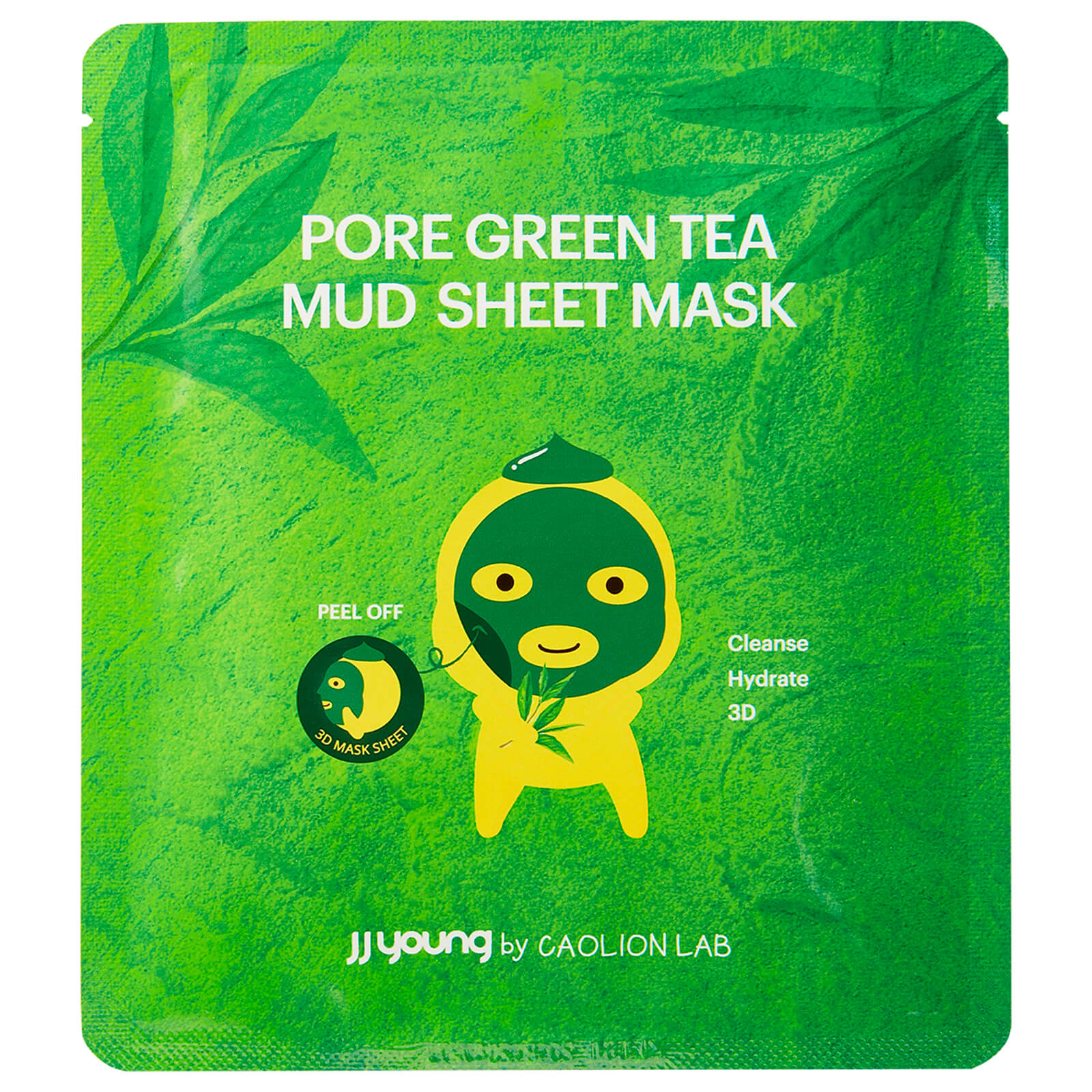JJ Young Green Tea Mud Sheet Mask