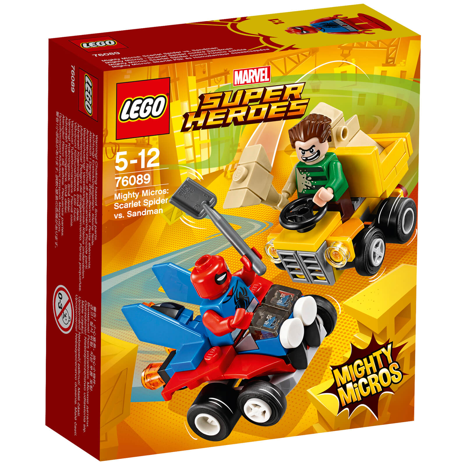 LEGO Superheroes Mighty Micros: Spider-Man Vs. Sandman (76089)