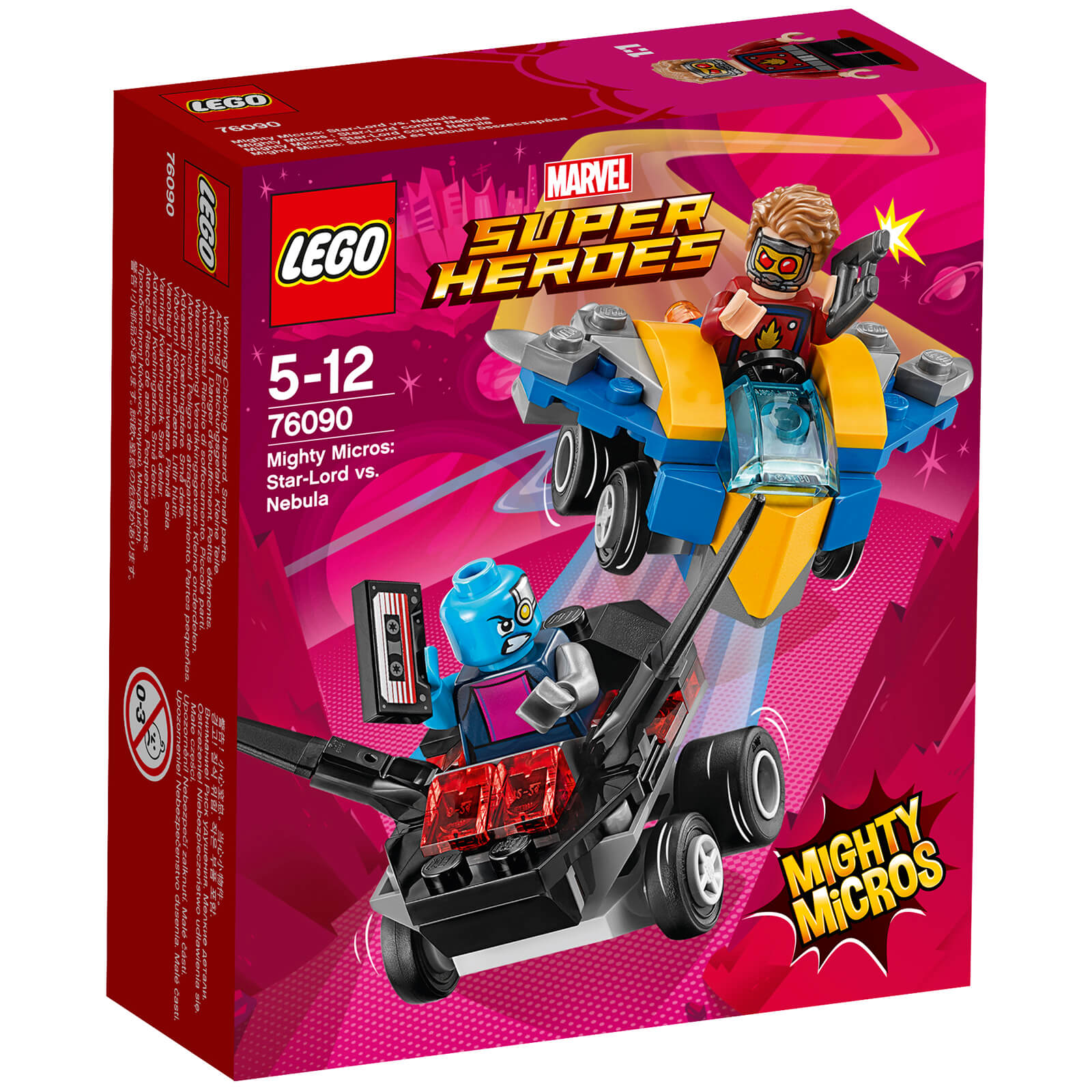 LEGO Superheroes Mighty Micros: Star-Lord Vs. Nebula (76090)