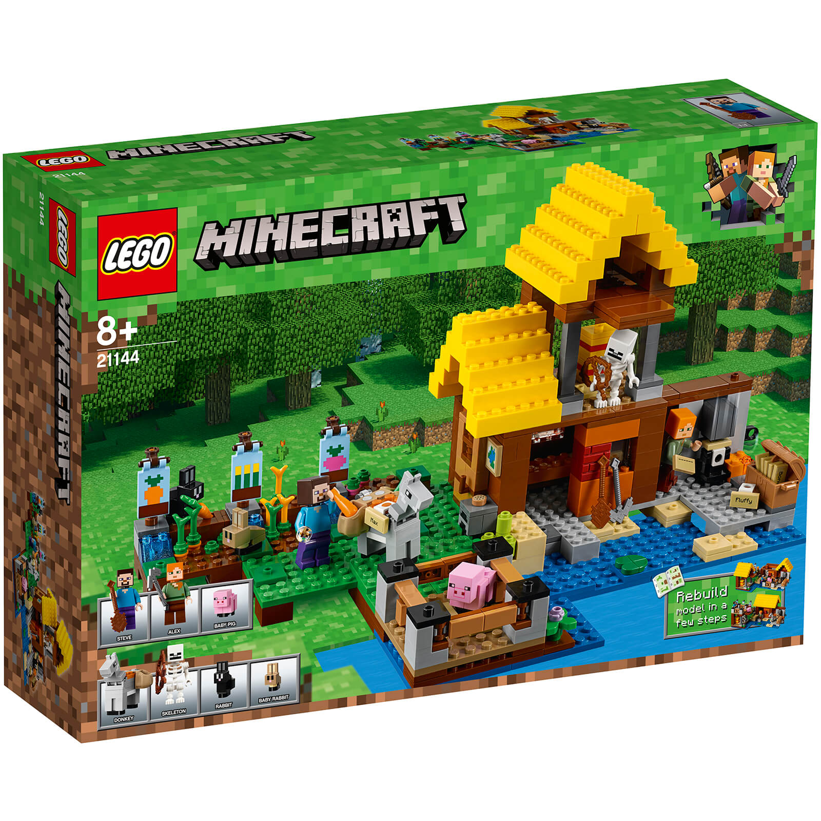 LEGO Minecraft: The Farm Cottage (21144)