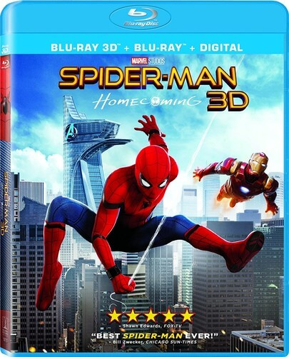 Spider-Man: Homecoming 3D (Includes 2D Version)