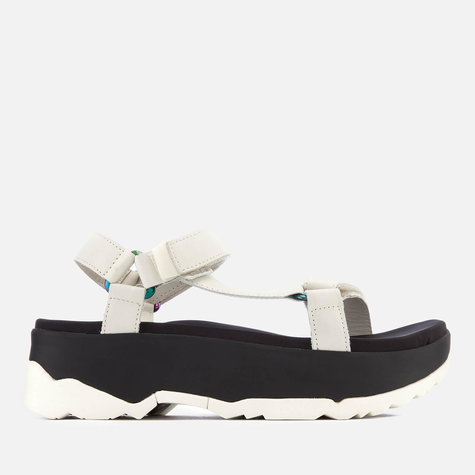 7083b81ff6e Teva Women s Zamora Universal Flatform Sandals - White Womens Accessories