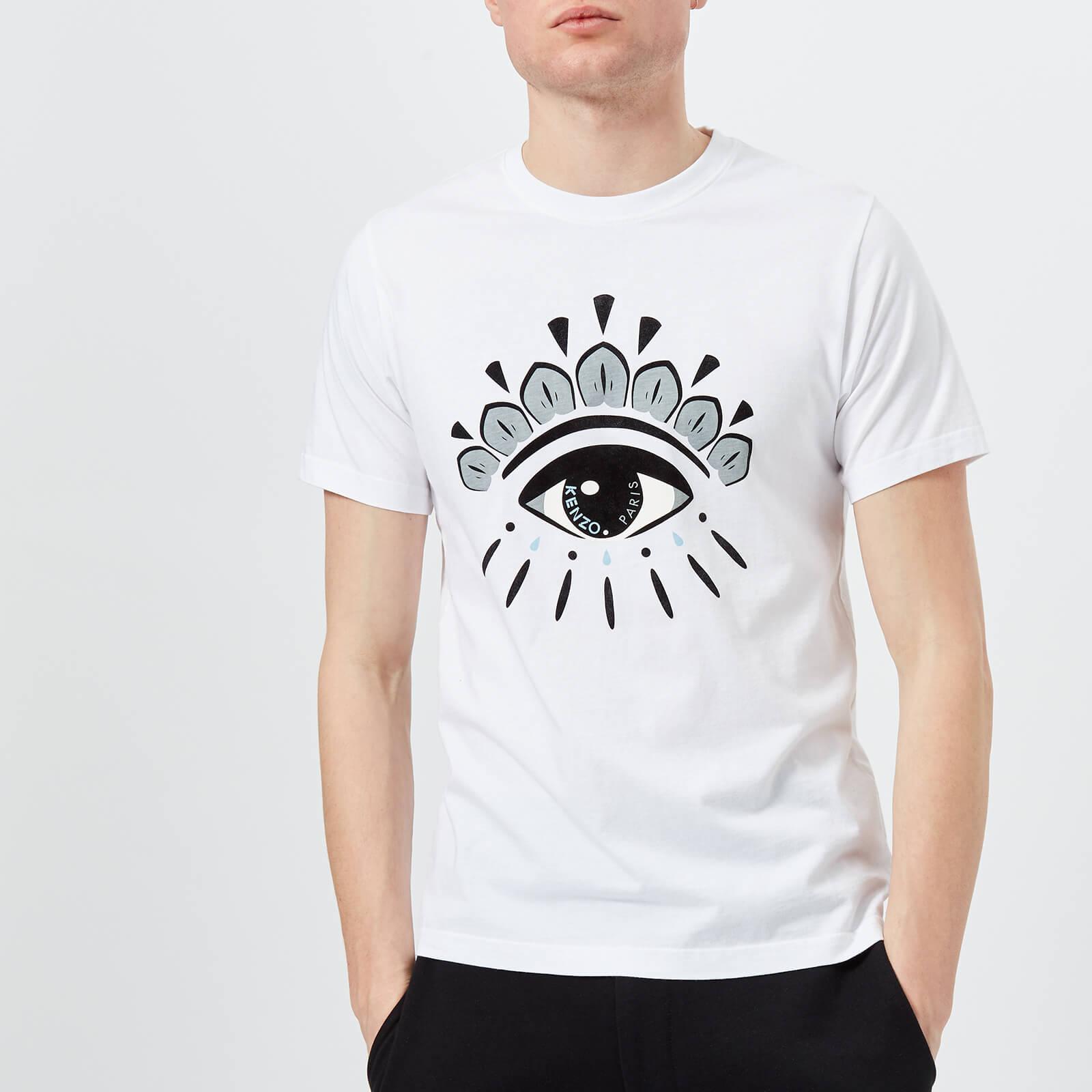 2bb7627dc1 KENZO Men's Iconic Eye T-Shirt - White