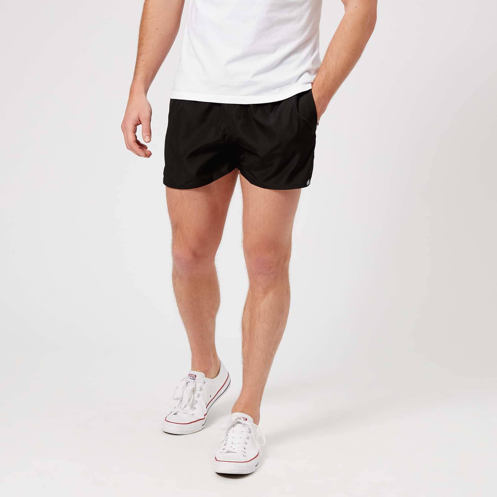 48555f2a165e5 adidas Men's 3 Stripe VSL Swim Shorts - Black Sports & Leisure   TheHut.com