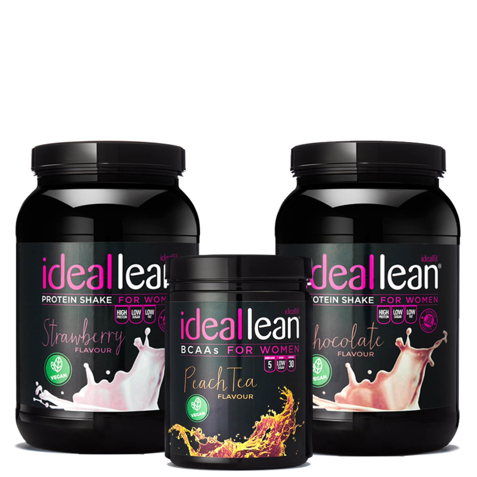 IdealLean Vegan Starter Bundle