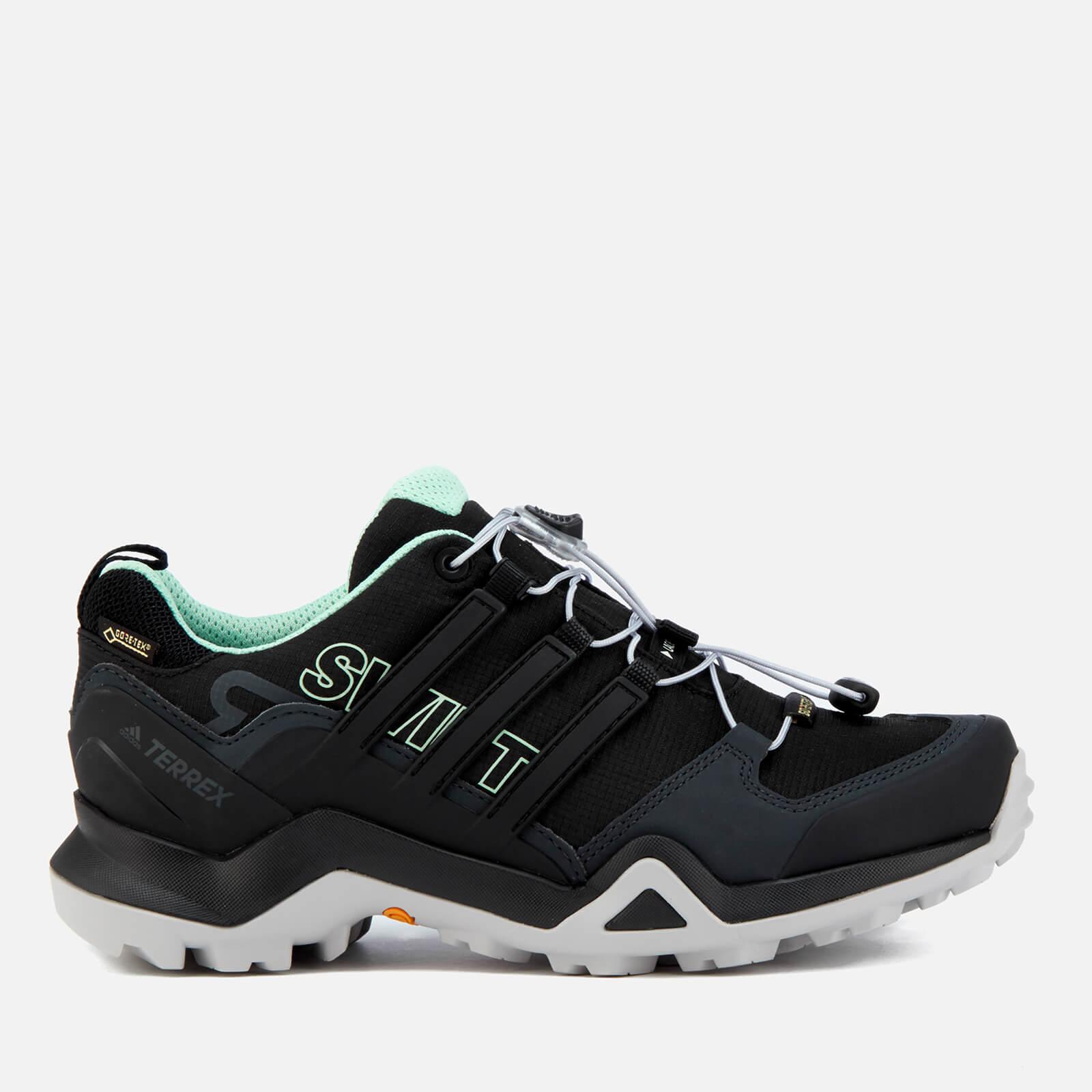 602966668b0 adidas Terrex Women's Swift R2 Gore-Tex Hiking Shoes - Core Black/Core  Black/Ash Green