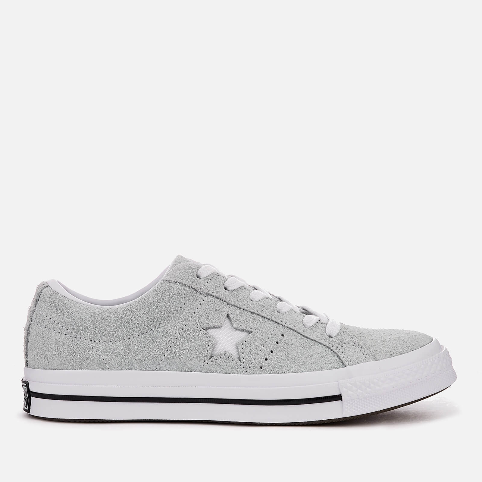 07b16ed41c40 Converse One Star Ox Trainers - Dried Bamboo White Black Mens Footwear