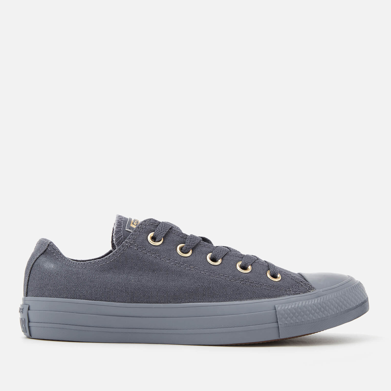 2b6f8249137e Converse Women s Chuck Taylor All Star Ox Trainers - Light Carbon Gold  Womens Footwear