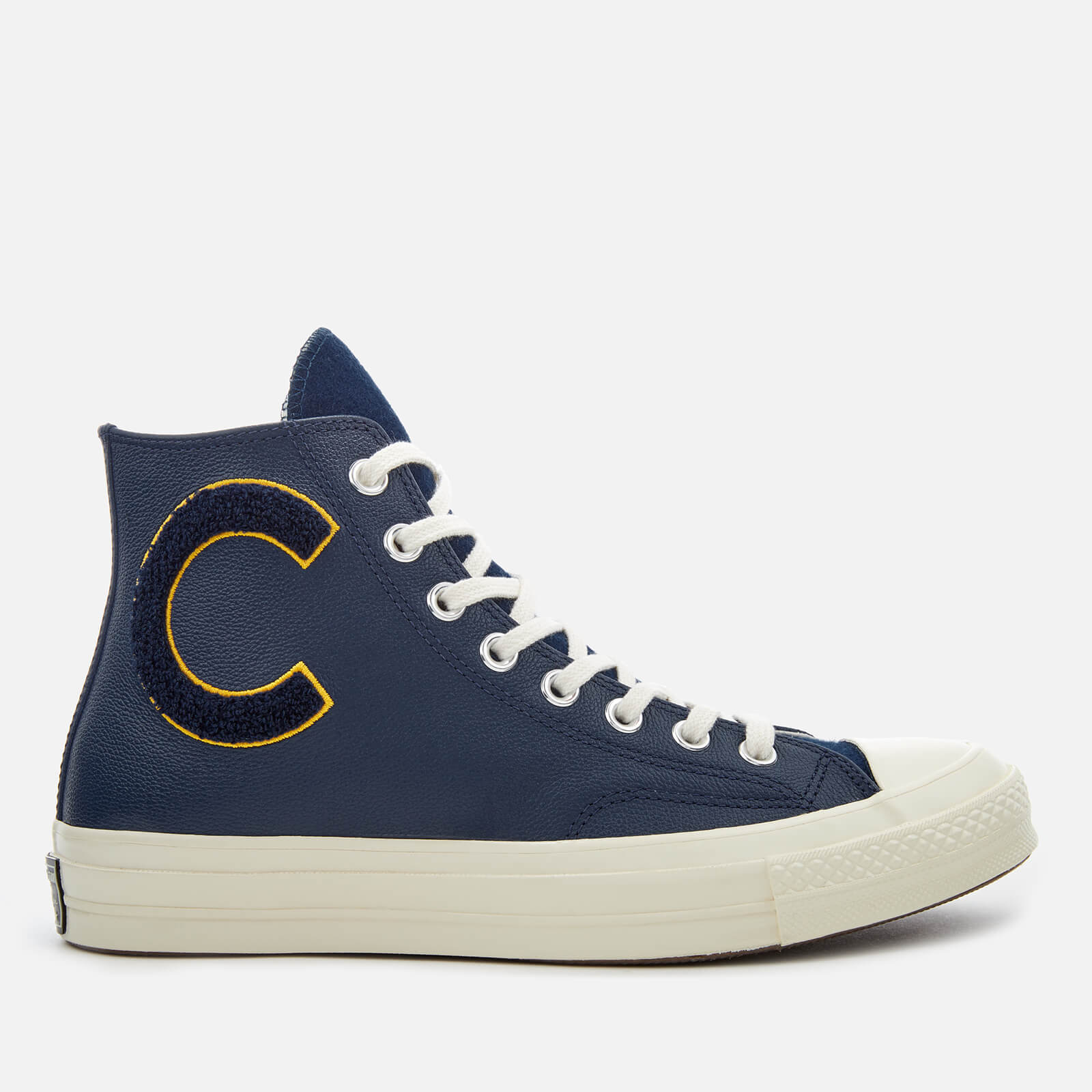 fff315eee7bd7e Converse Men s Chuck Taylor All Star 70 Hi-Top Trainers - Navy Mineral  Yellow Egret - Free UK Delivery over £50