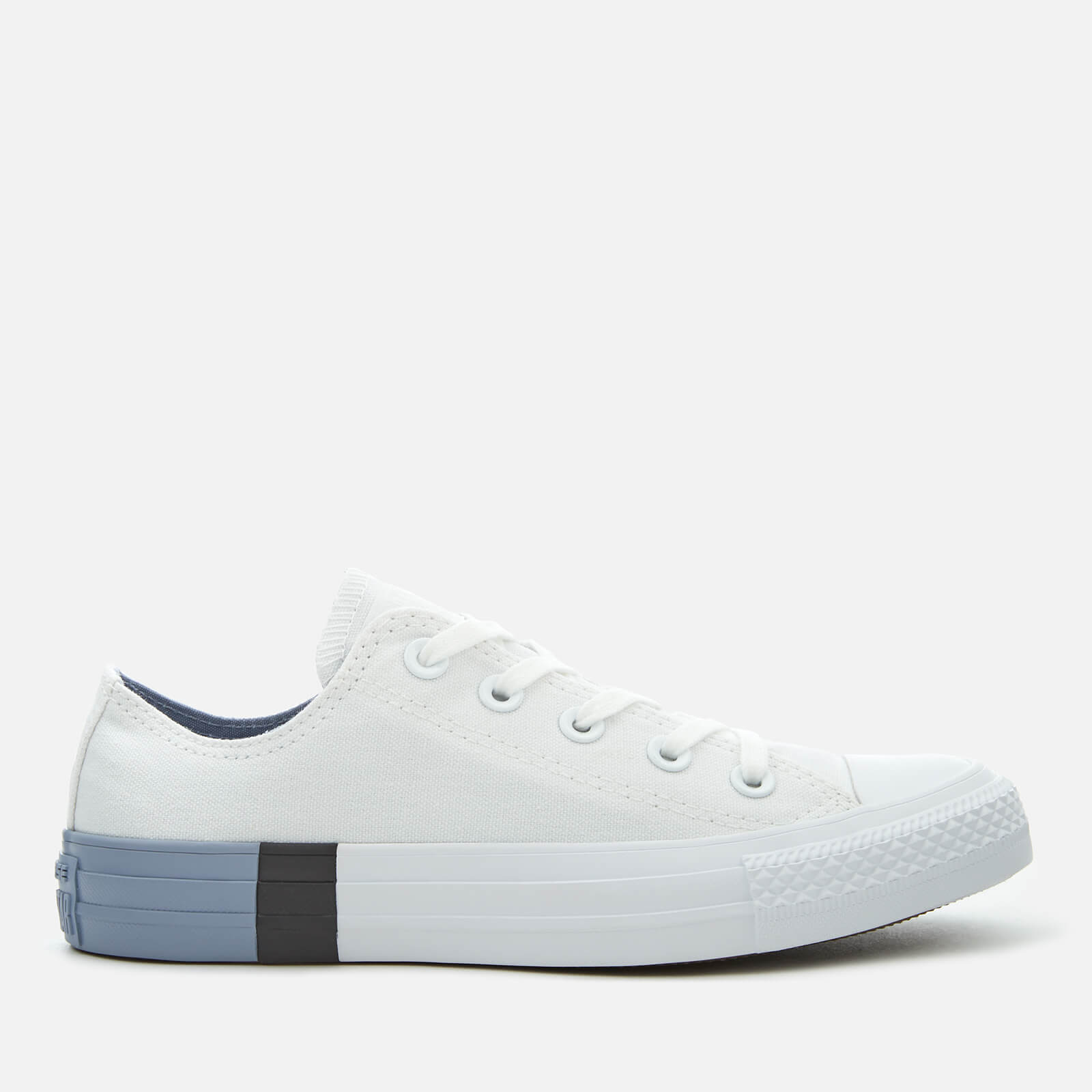 Converse Women's Chuck Taylor All Star Ox Trainers WhiteGlacier Grey
