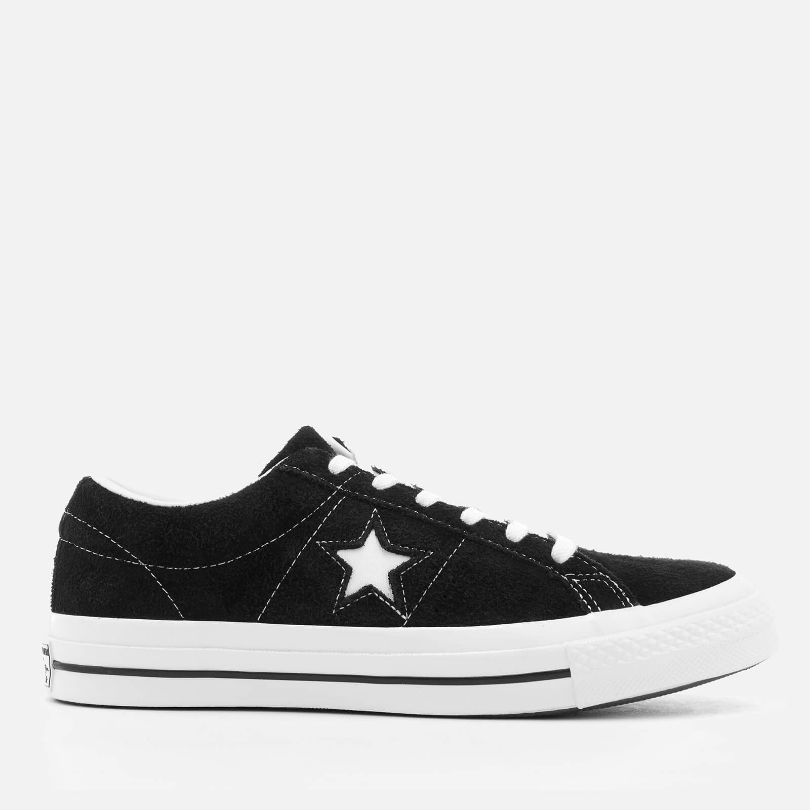 c2a1c25a537a Converse One Star Ox Trainers - Black White - Free UK Delivery over £50