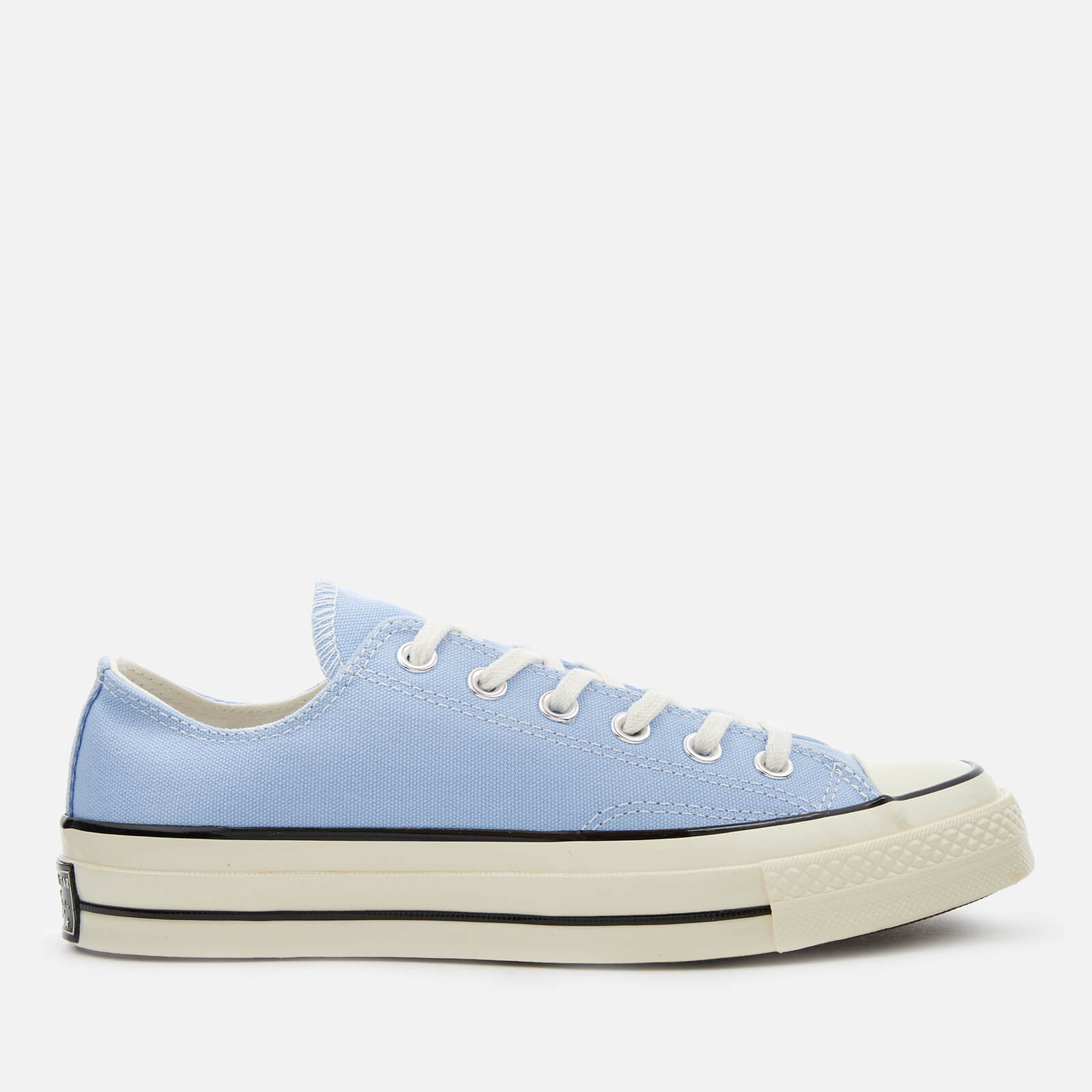 bdaf670c035e Converse Chuck Taylor All Star 70 Ox Trainers - Blue Chill Black Egret -  Free UK Delivery over £50