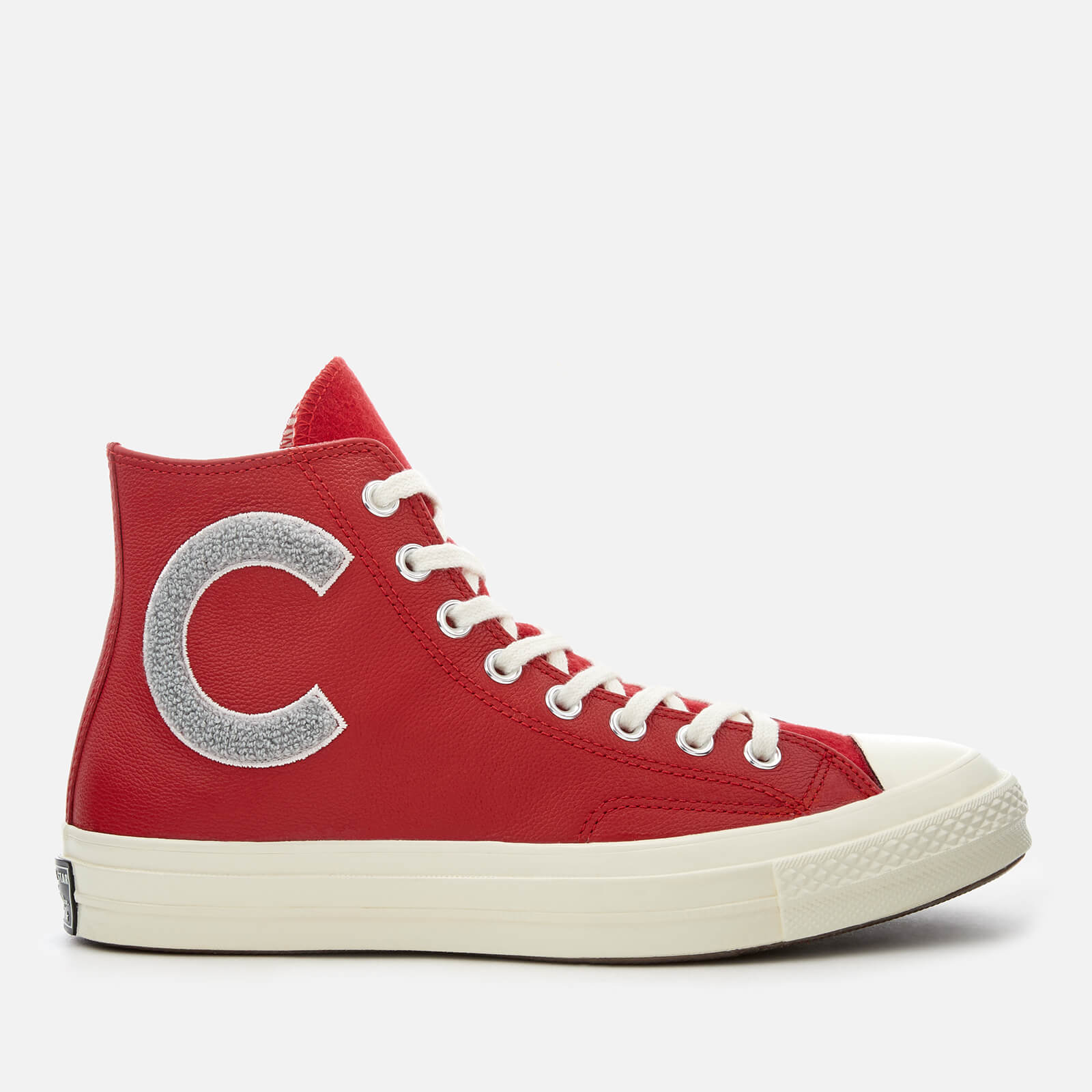 5b9b9267f5fd Converse Men s Chuck Taylor All Star 70 Hi-Top Trainers - Enamel Red Wolf  Grey Egret - Free UK Delivery over £50