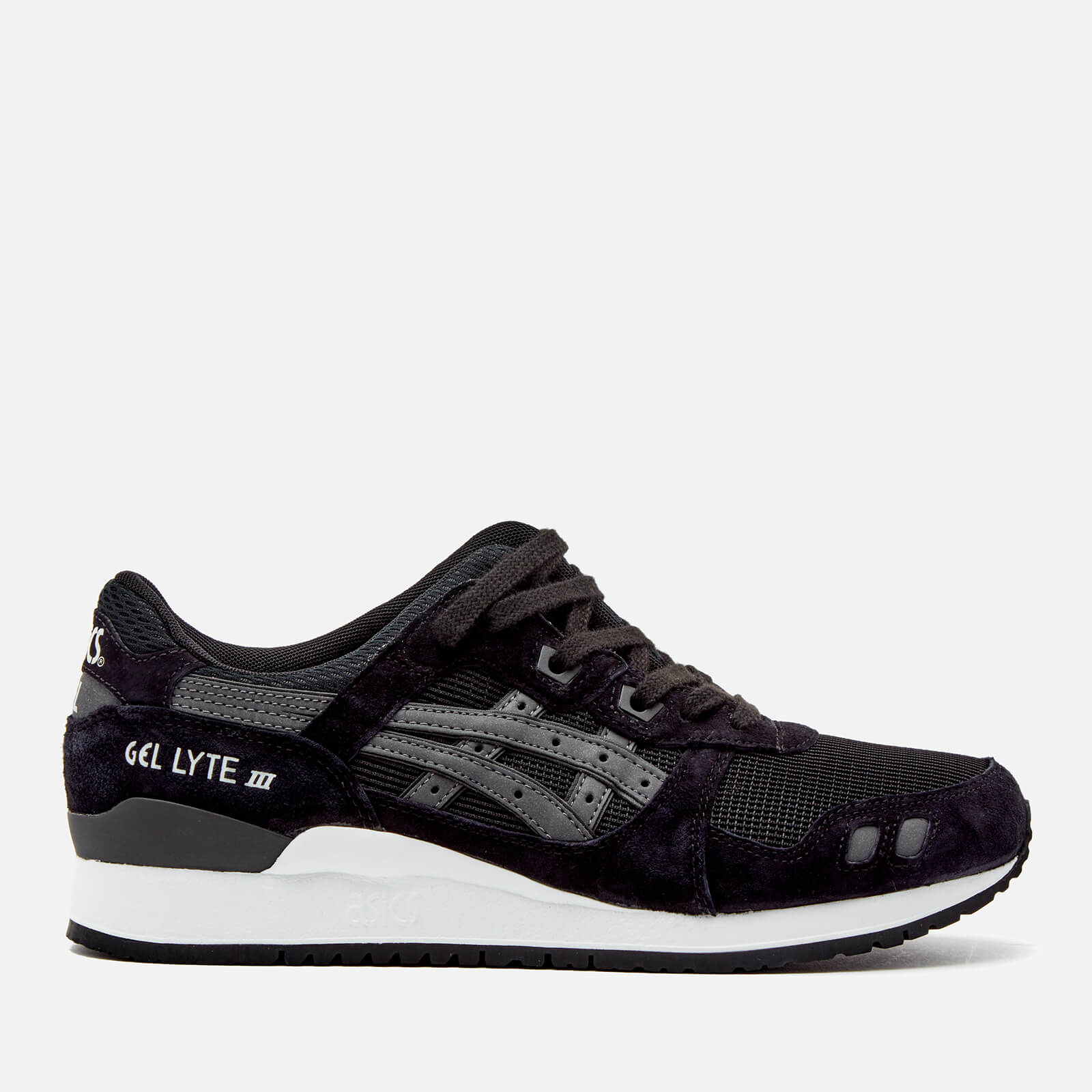 a24b4755f180 Asics Lifestyle Men s Gel-Lyte III Trainers - Black - Free UK Delivery over  £50