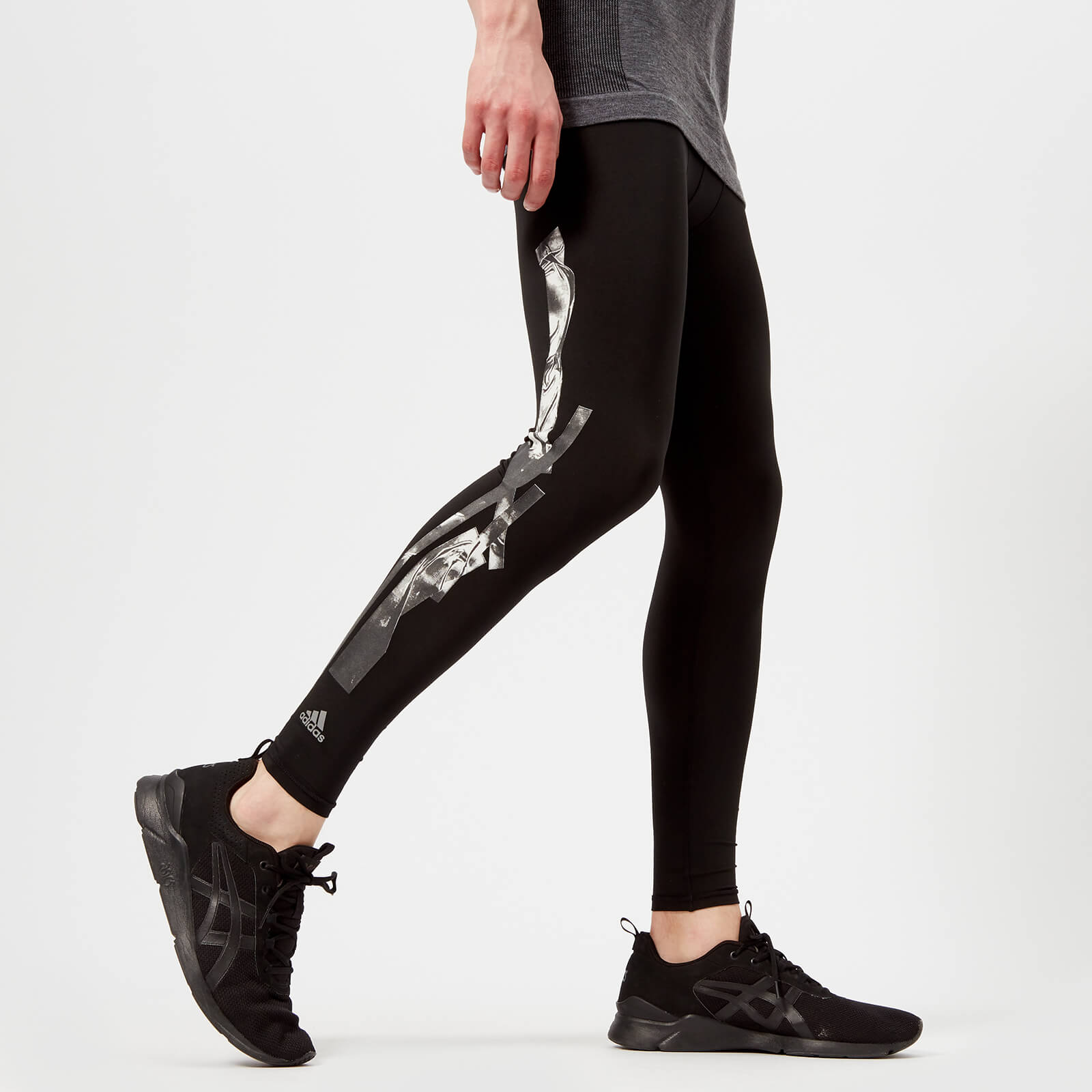57194c1da63 adidas by kolor Men's Techfit Tights - Black - Free UK Delivery over £50