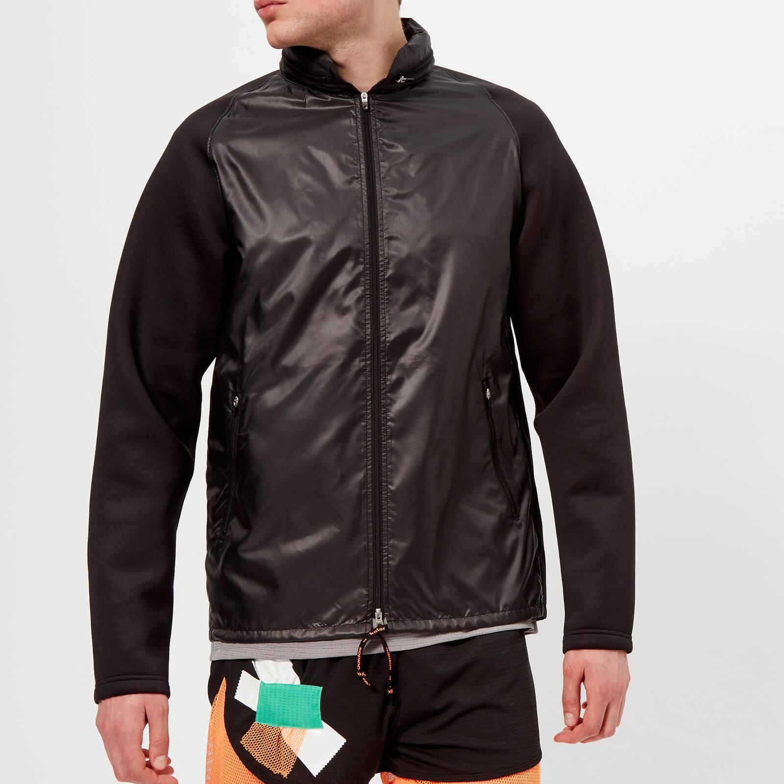 adidas by kolor Men's Fabric Mix Jacket Black