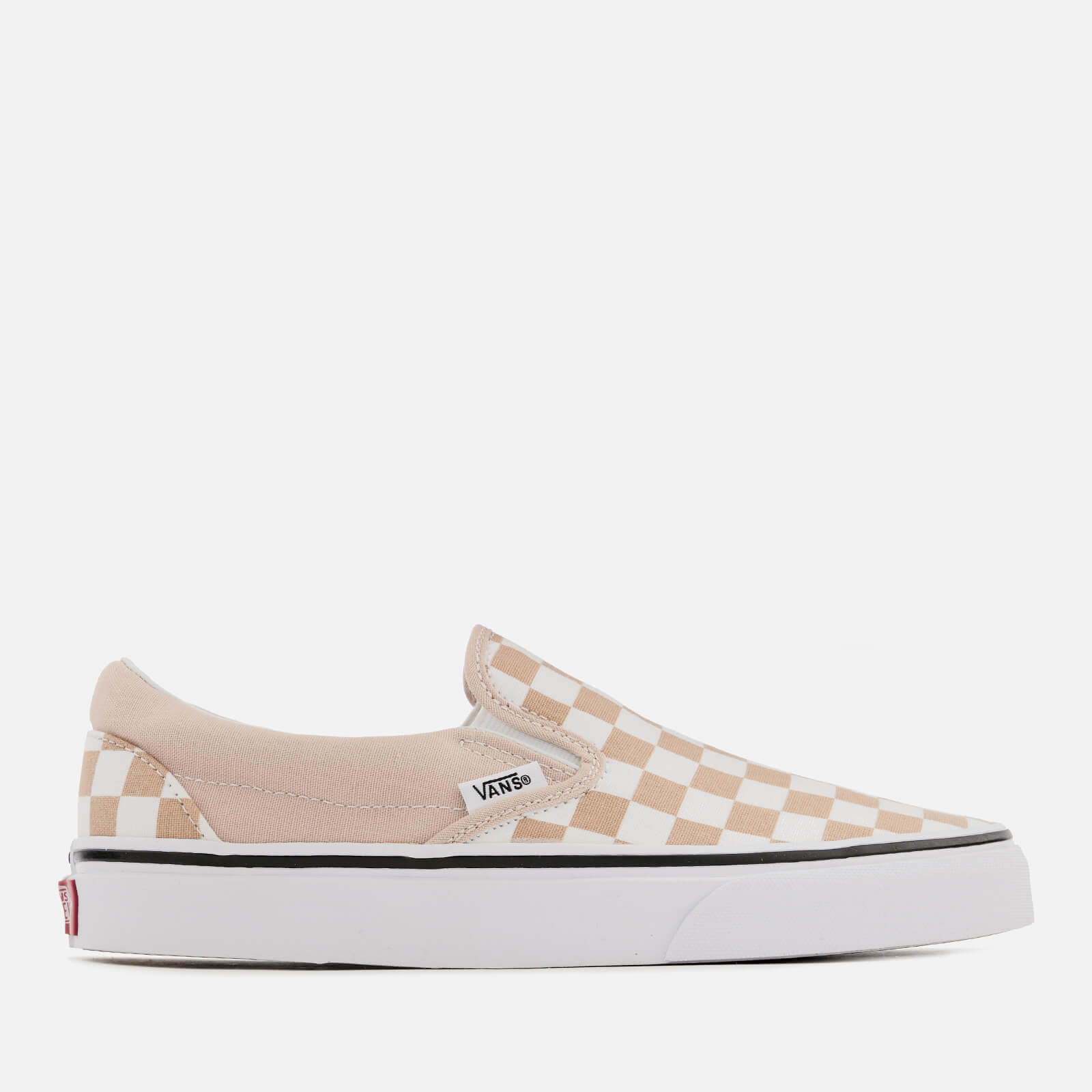 5a7312cf0a Vans Women s Checkerboard Classic Slip-On Trainers - Frappe True White  Womens Footwear