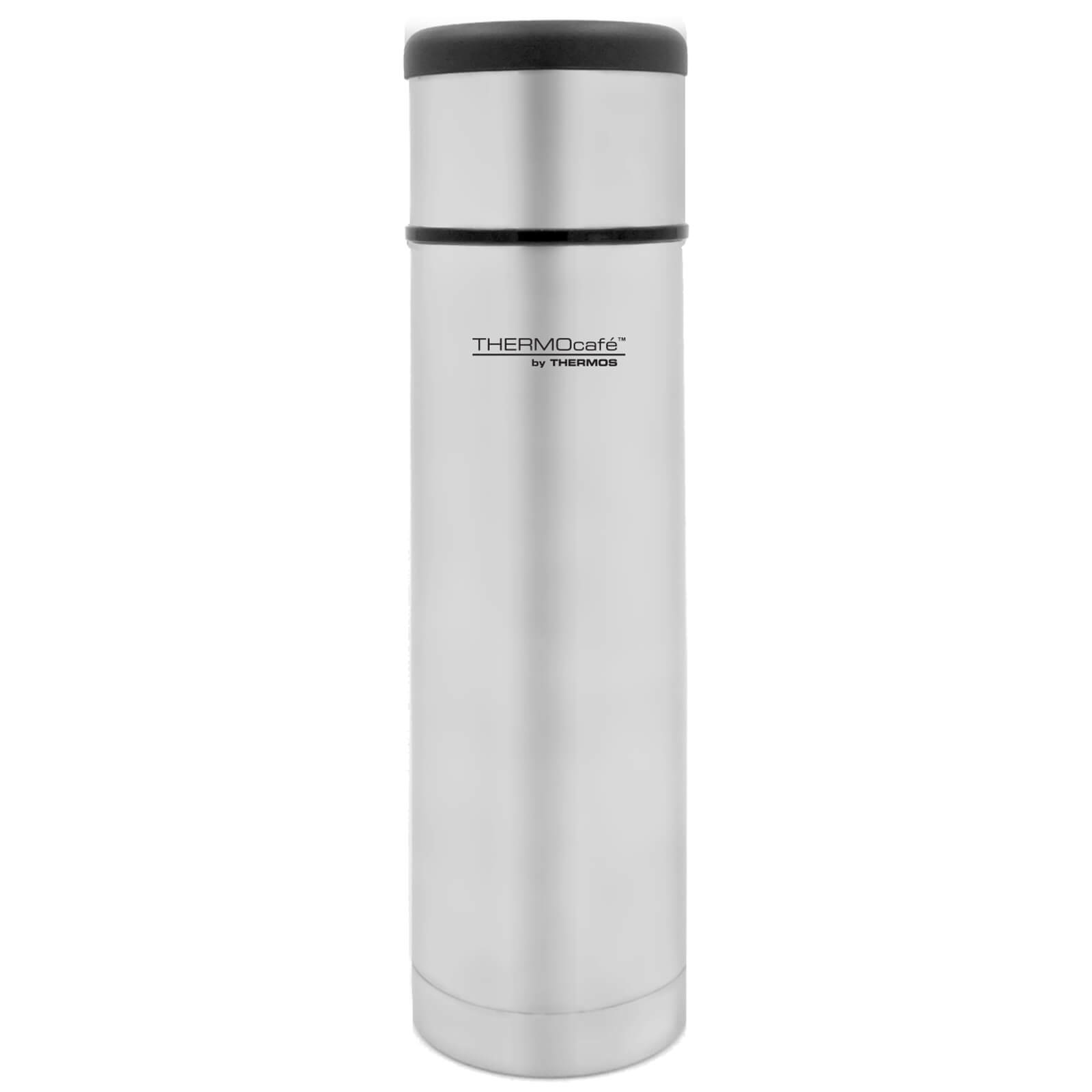 Thermos ThermoCafe Flat Top Stainless Steel Flask 500ml