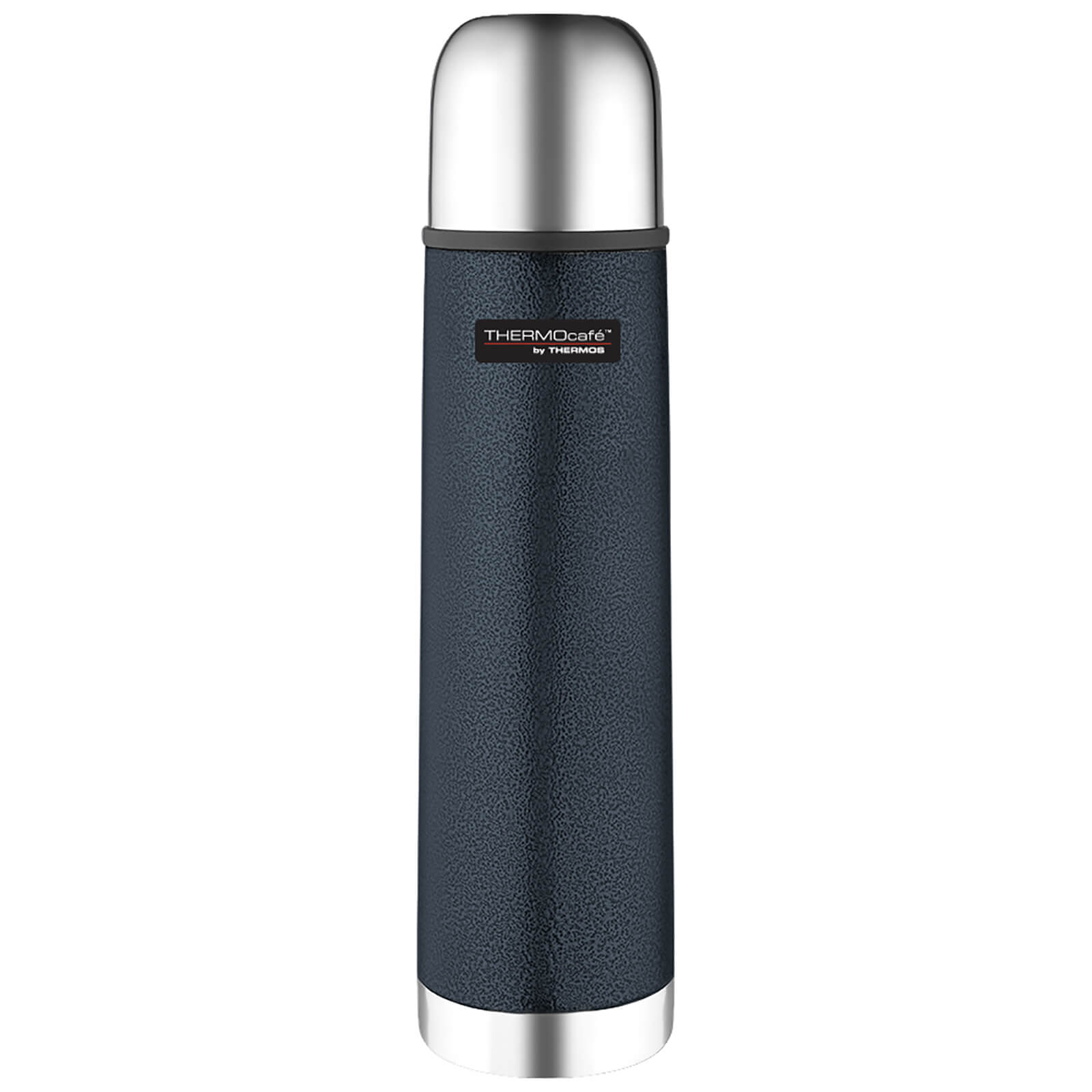 Thermos ThermoCafe Hammertone Stainless Steel Flask - Blue 500ml