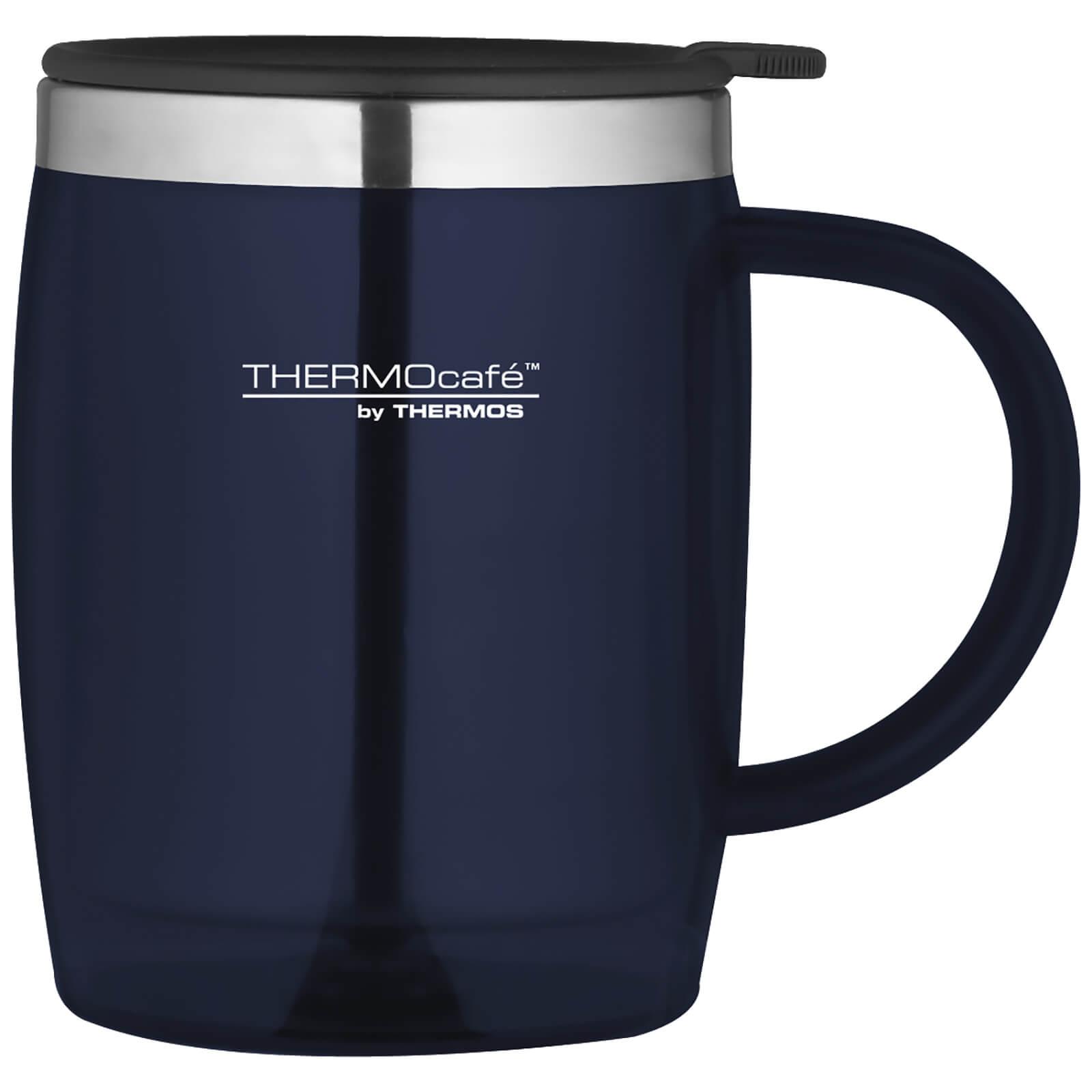 Thermos ThermoCafe Translucent Desk Mug - Blue 450ml