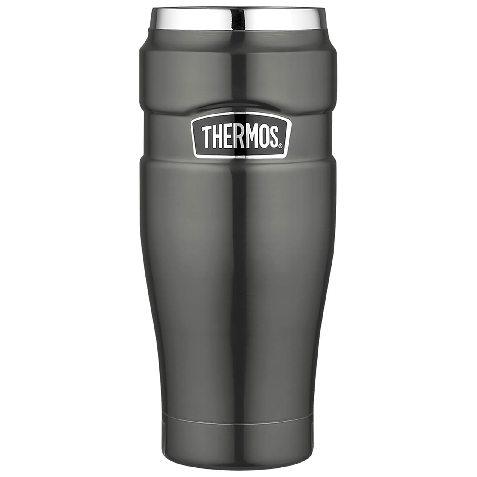Thermos Stainless King Travel Tumbler - Gun Metal 470ml