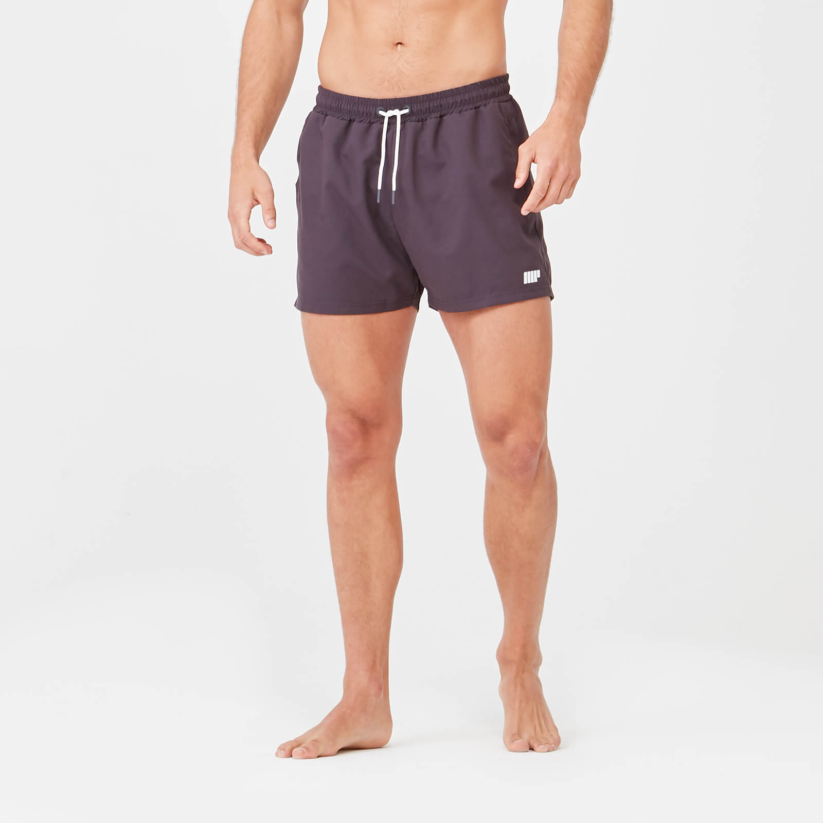 Short Length Swim Shorts - Slate - XS