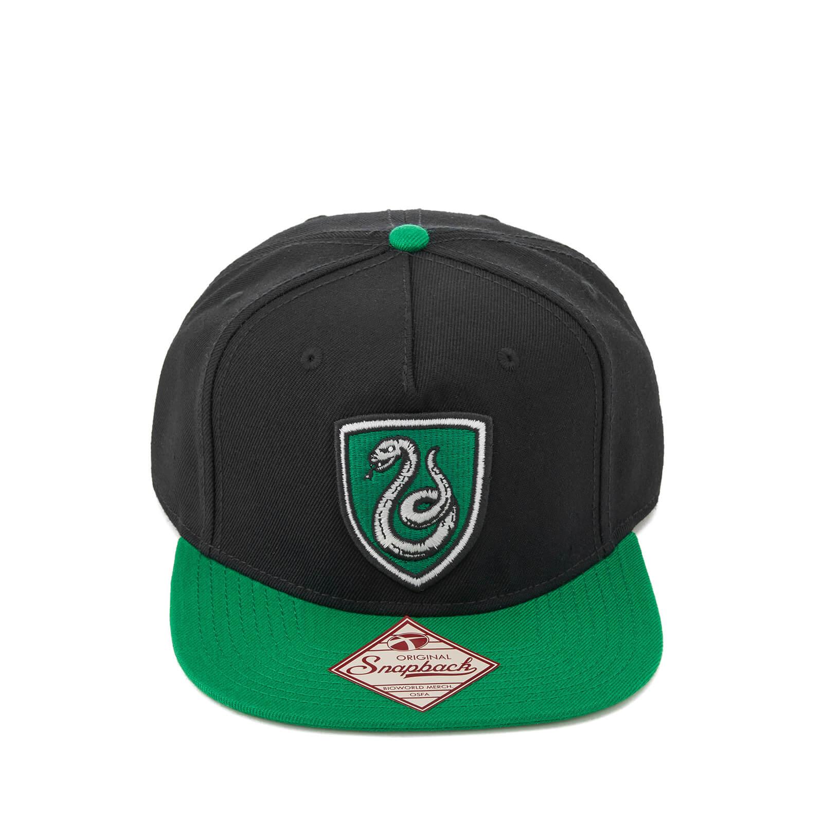 Harry Potter Slytherin Snapback Cap - Black Merchandise   Zavvi.de