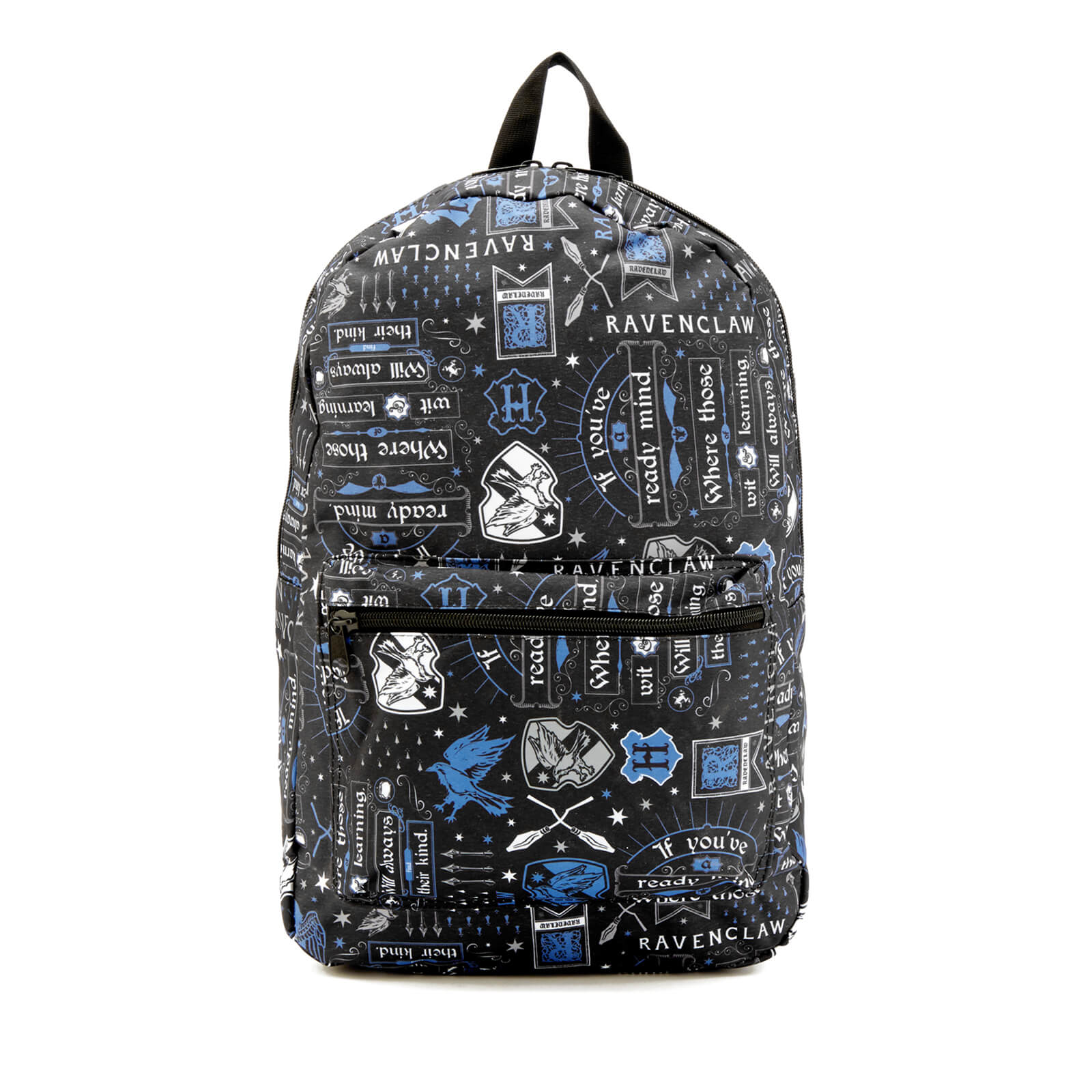 Harry Potter Ravenclaw Icon Sublimated Backpack - Black