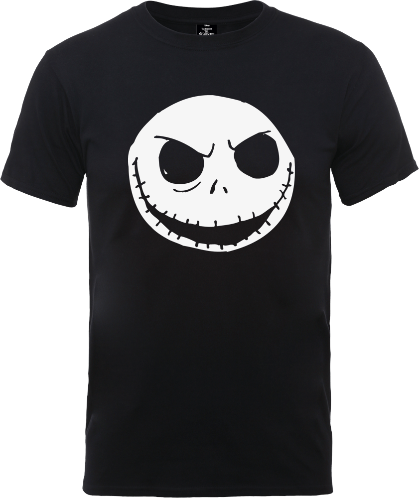 The Nightmare Before Christmas Jack Skellington Black T-Shirt