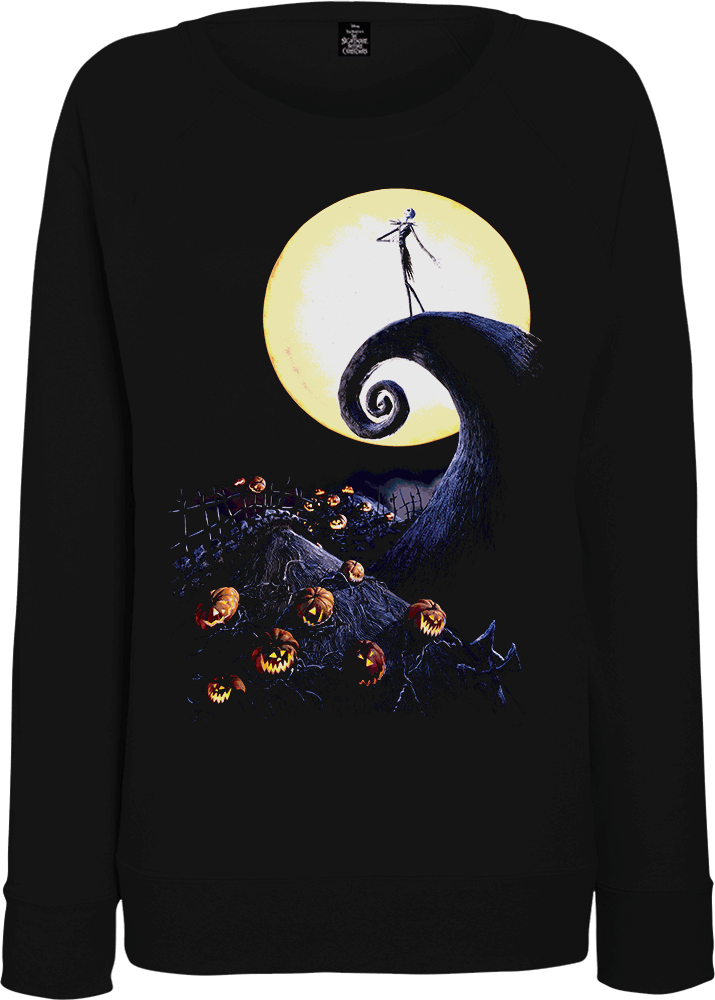 The Nightmare Before Christmas Jack Skellington Pumpkin King Colour Women