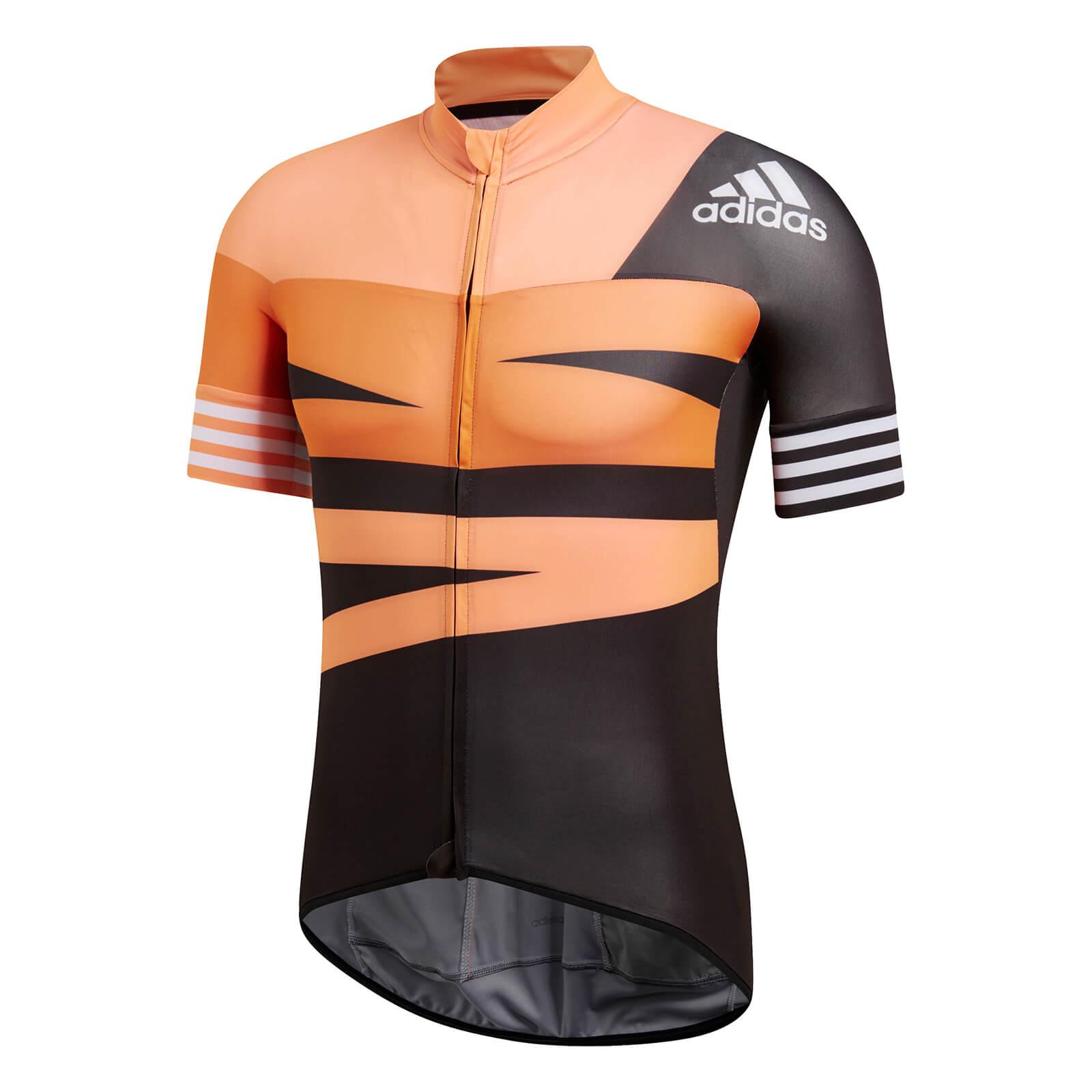 check out 761fe 5ffc5 adidas Men s Adistar Jersey - Orange   ProBikeKit UK
