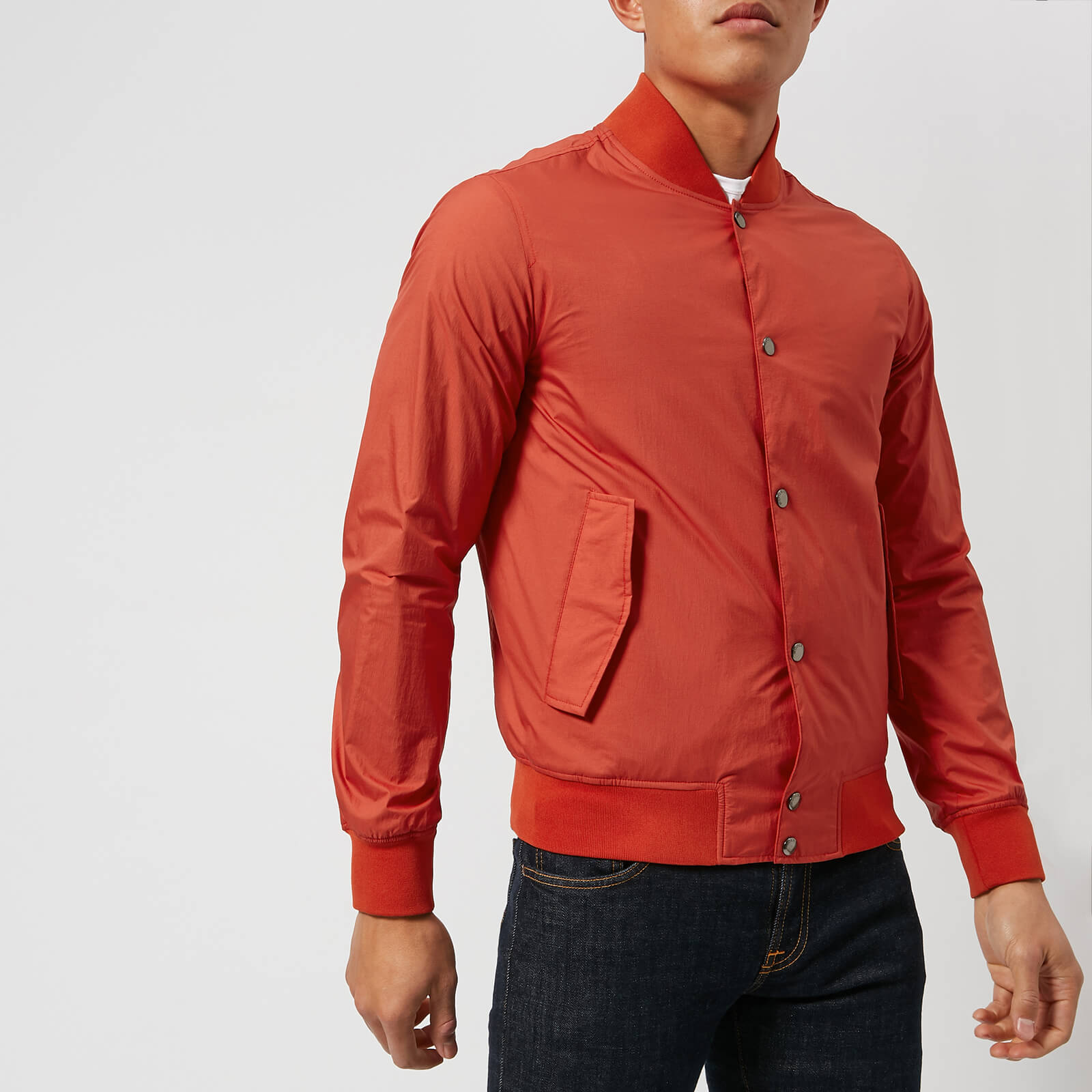 fcaceb67e Woolrich Men's Wallaby Bomber Jacket - Aurora Red