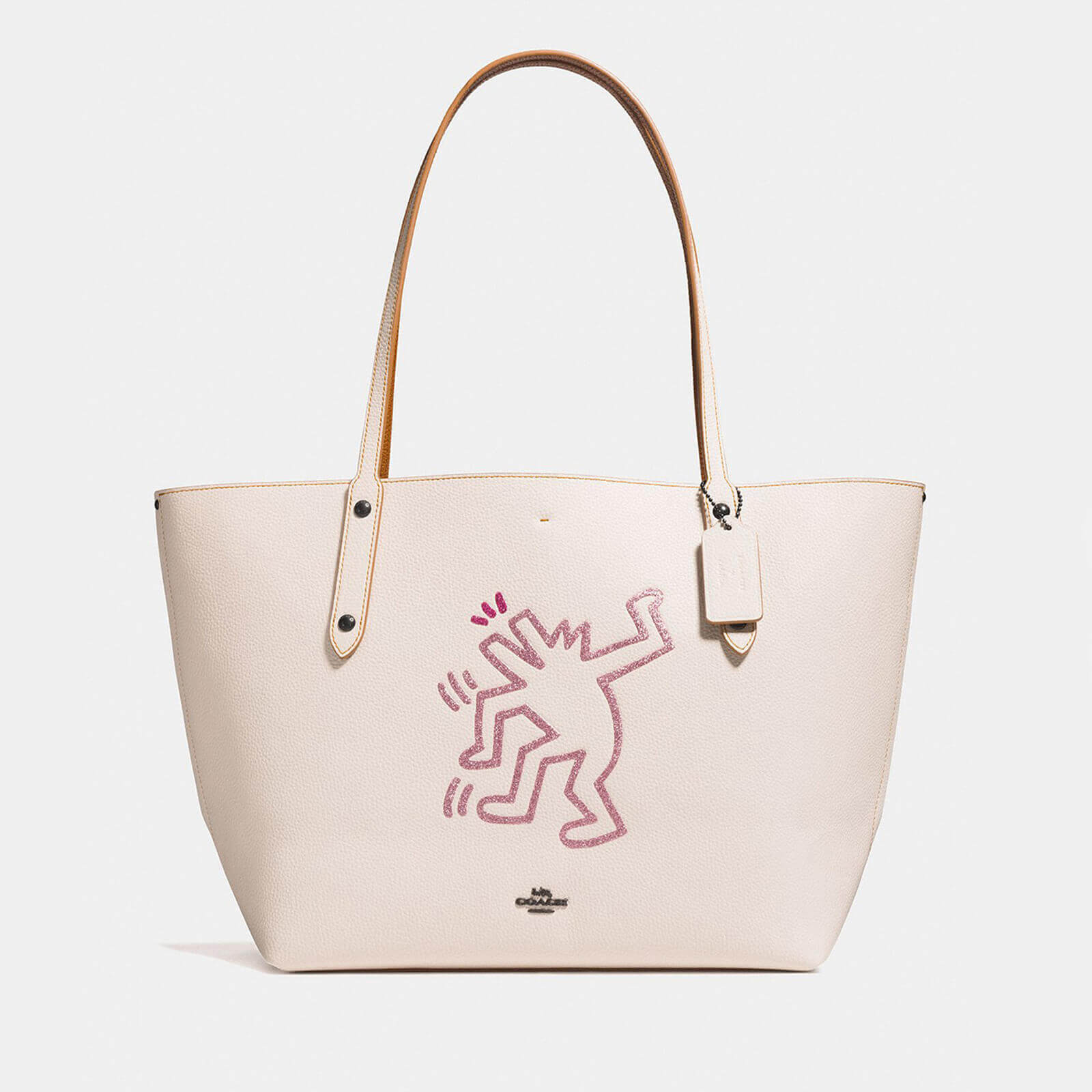 e01b9dd51c Coach 1941 Women s Coach X Keith Haring Market Tote Bag - Chalk - Free UK  Delivery over £50