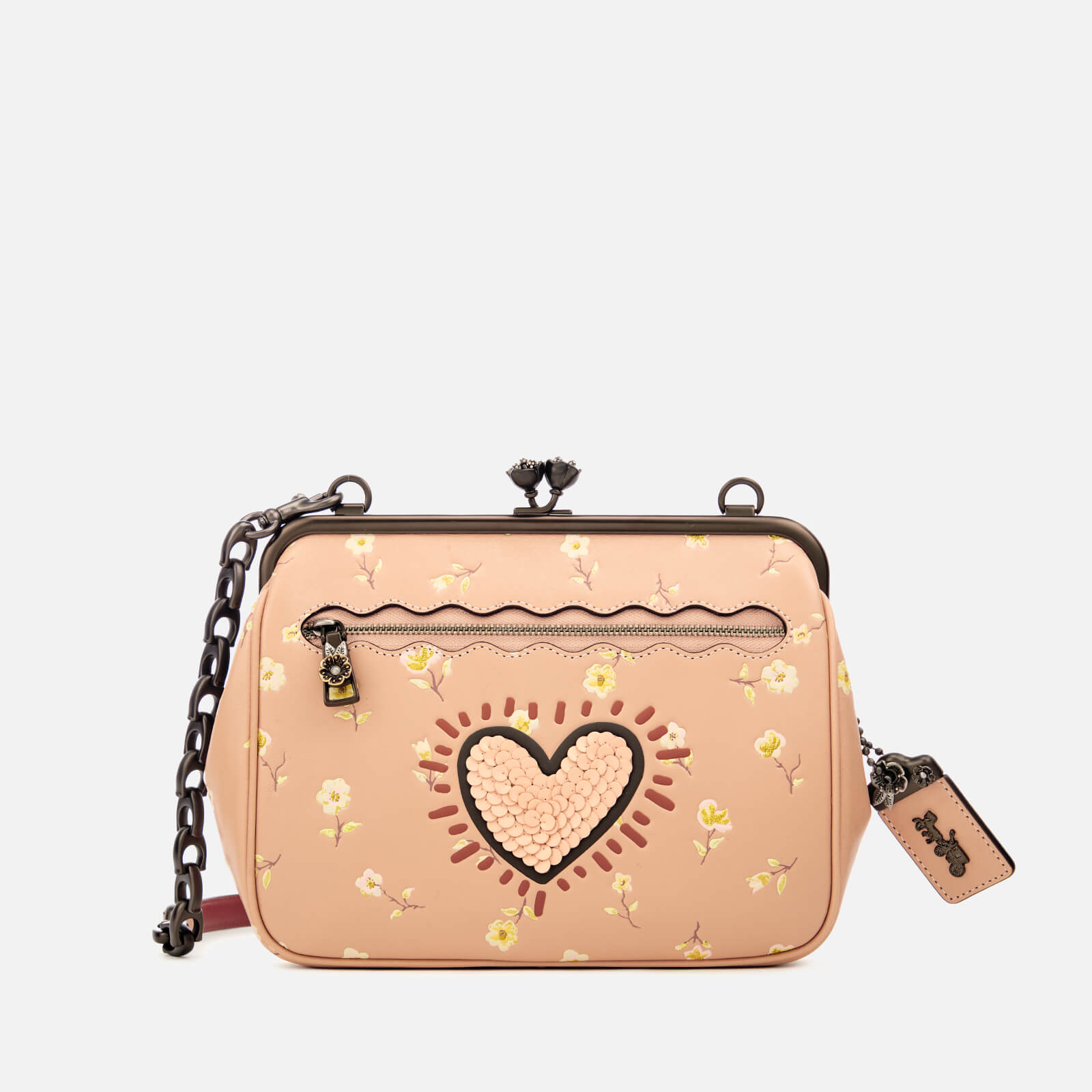 4b86352dbd0c Coach 1941 Women s Coach X Keith Haring Kisslock Cross Body Bag - Beechwood  - Free UK Delivery over £50