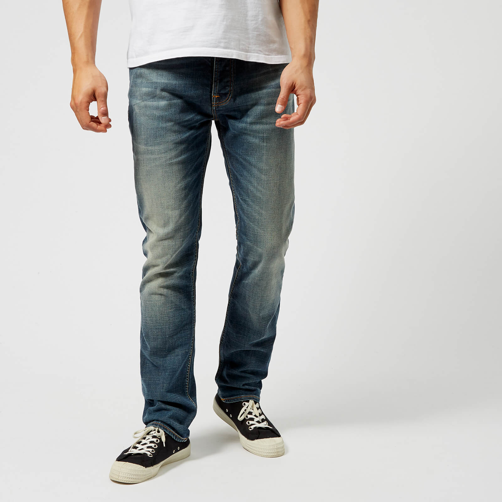 6bcc324235bfc Nudie Jeans Men s Dude Dan Jeans - Worn Well Comf. - Free UK Delivery over  £50