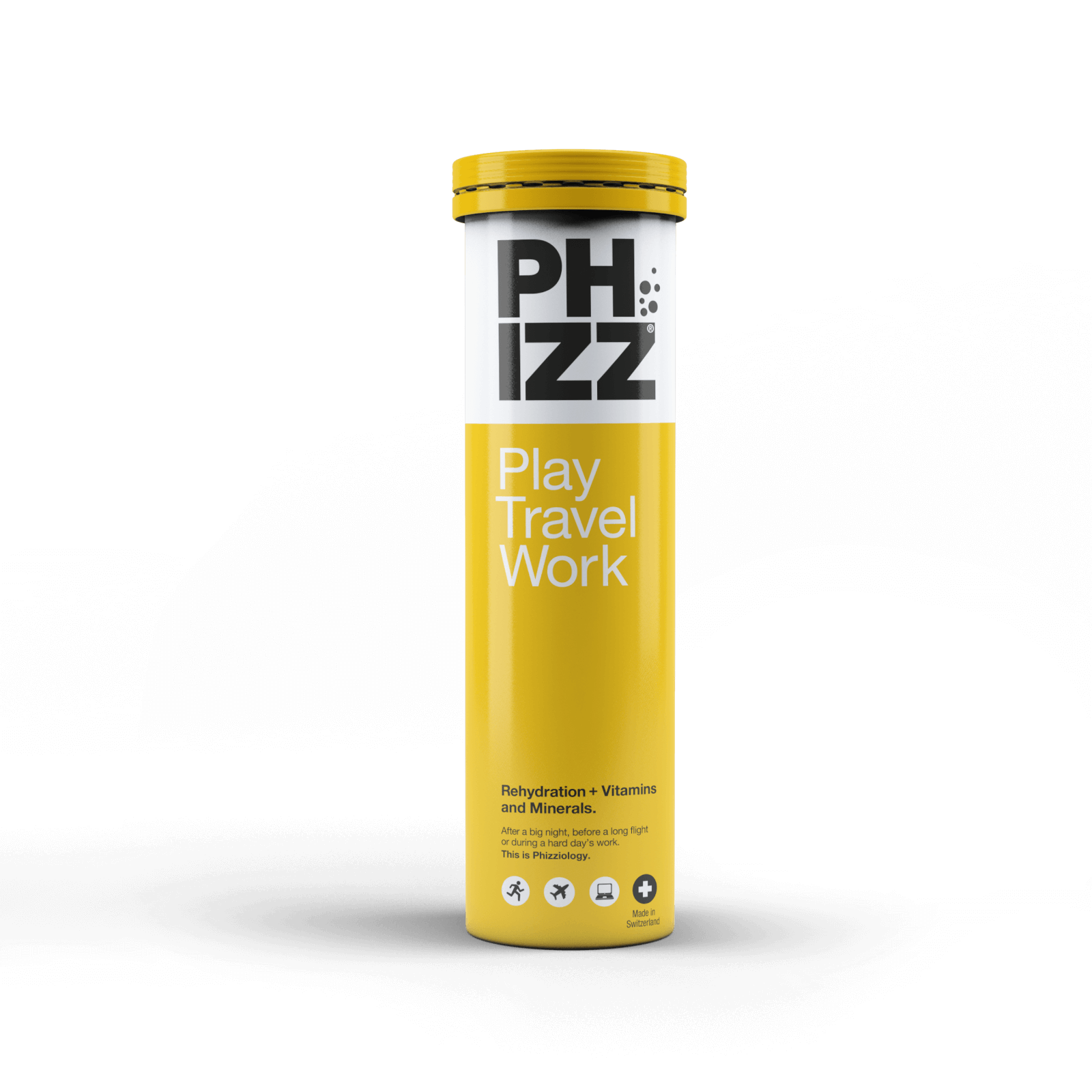 Phizz Orange Effervescents - Tube of 20 Tablets