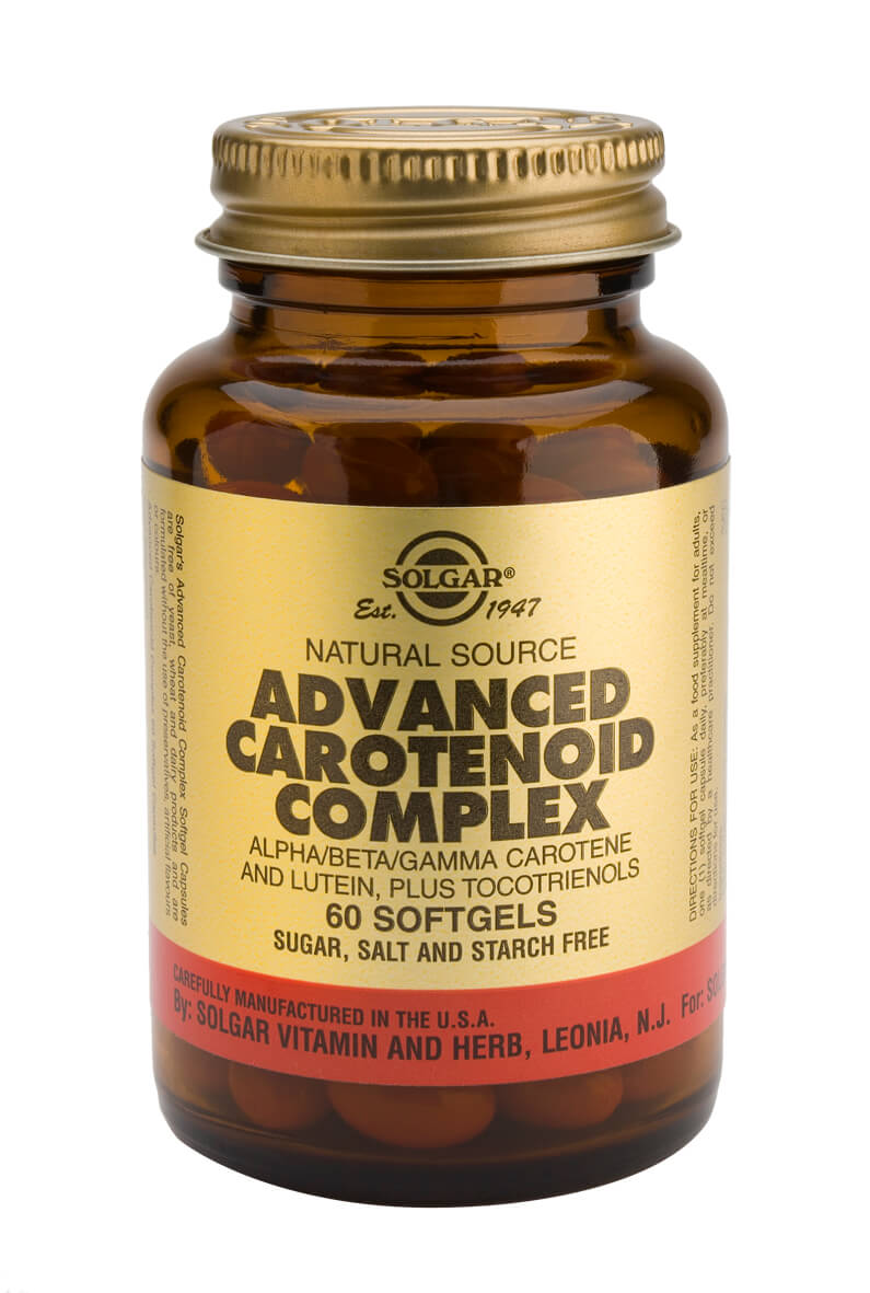 Solgar® Advanced Carotenoid Complex - 60 Softgels