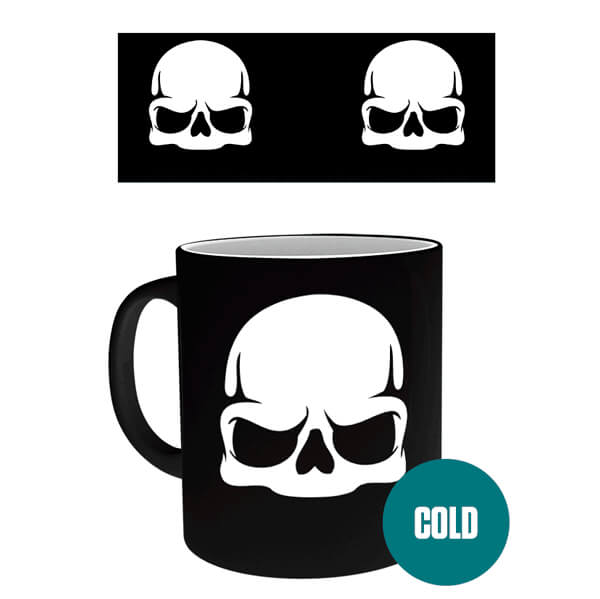 Call Of Duty Skull Heat Change Mug