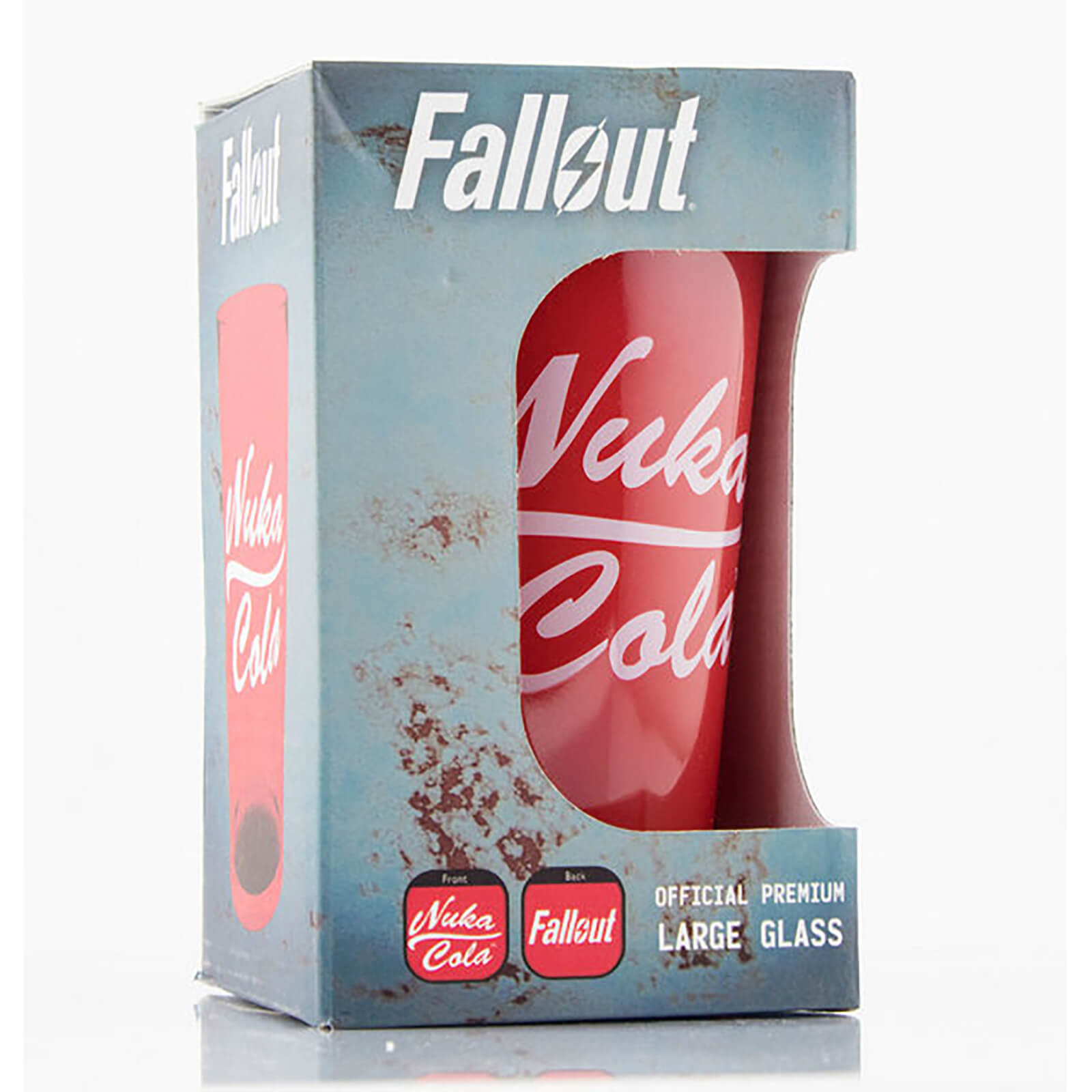 Fallout Nuka Cola Coloured Large Glasses 16oz