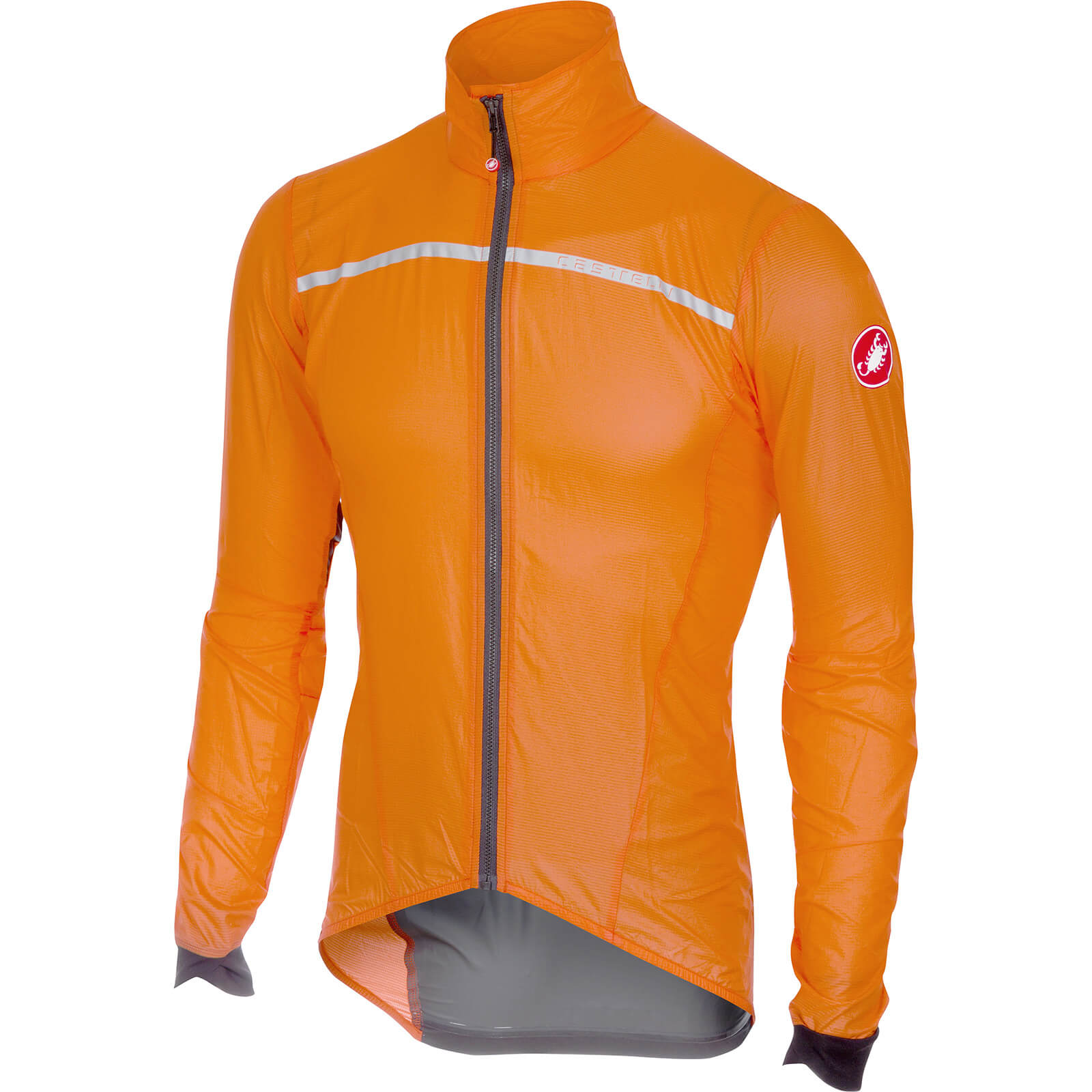 Castelli Superleggera Jacket - Orange