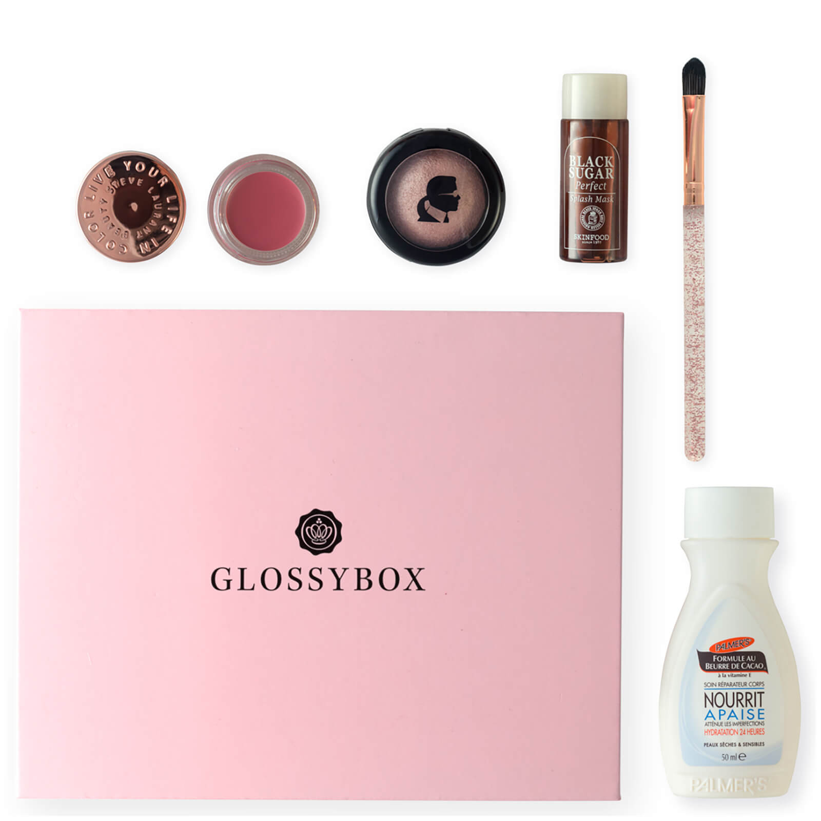 glossybox avril 2018 glossybox fr. Black Bedroom Furniture Sets. Home Design Ideas