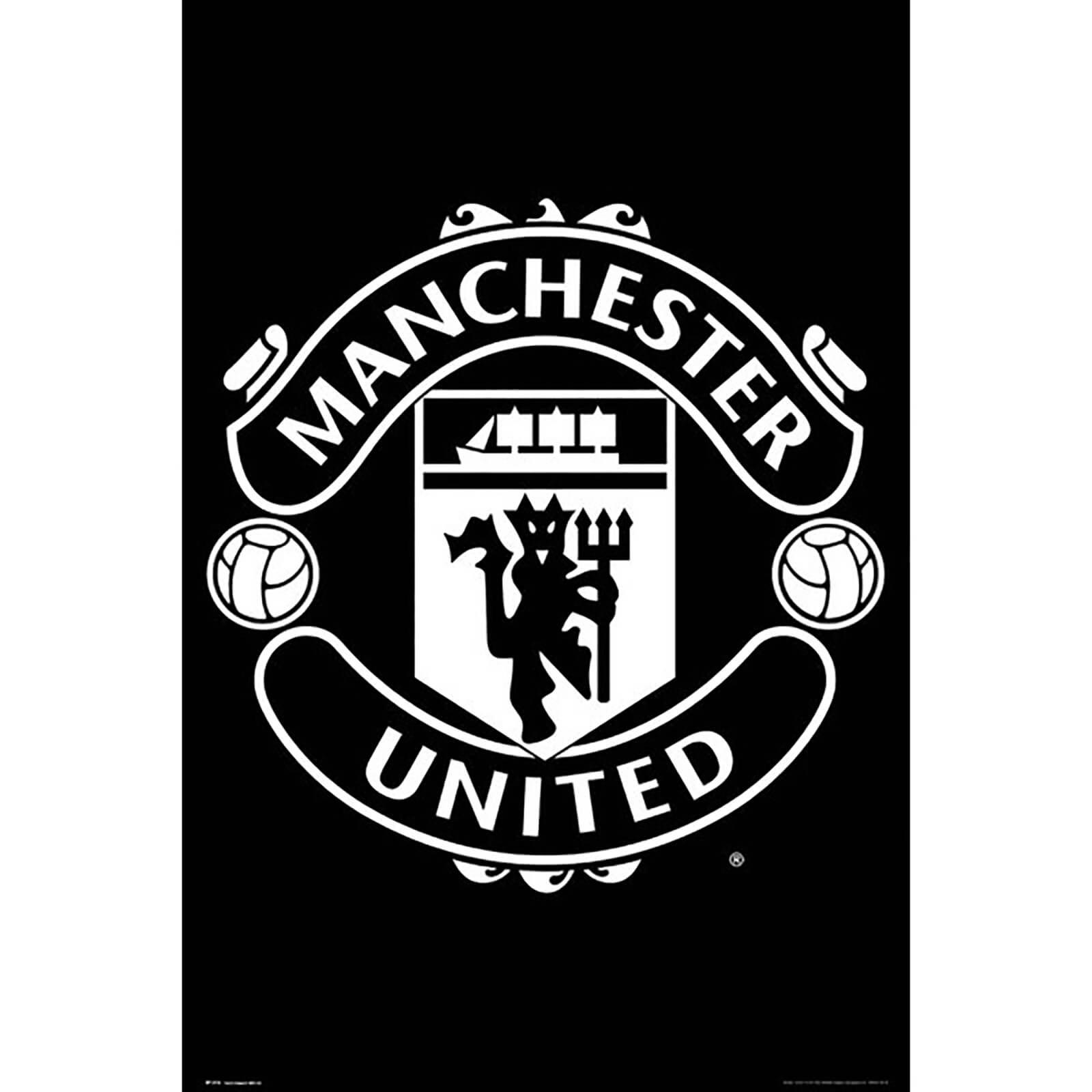 Manchester United Crest 17/18 Maxi Poster 61 x 91.5cm