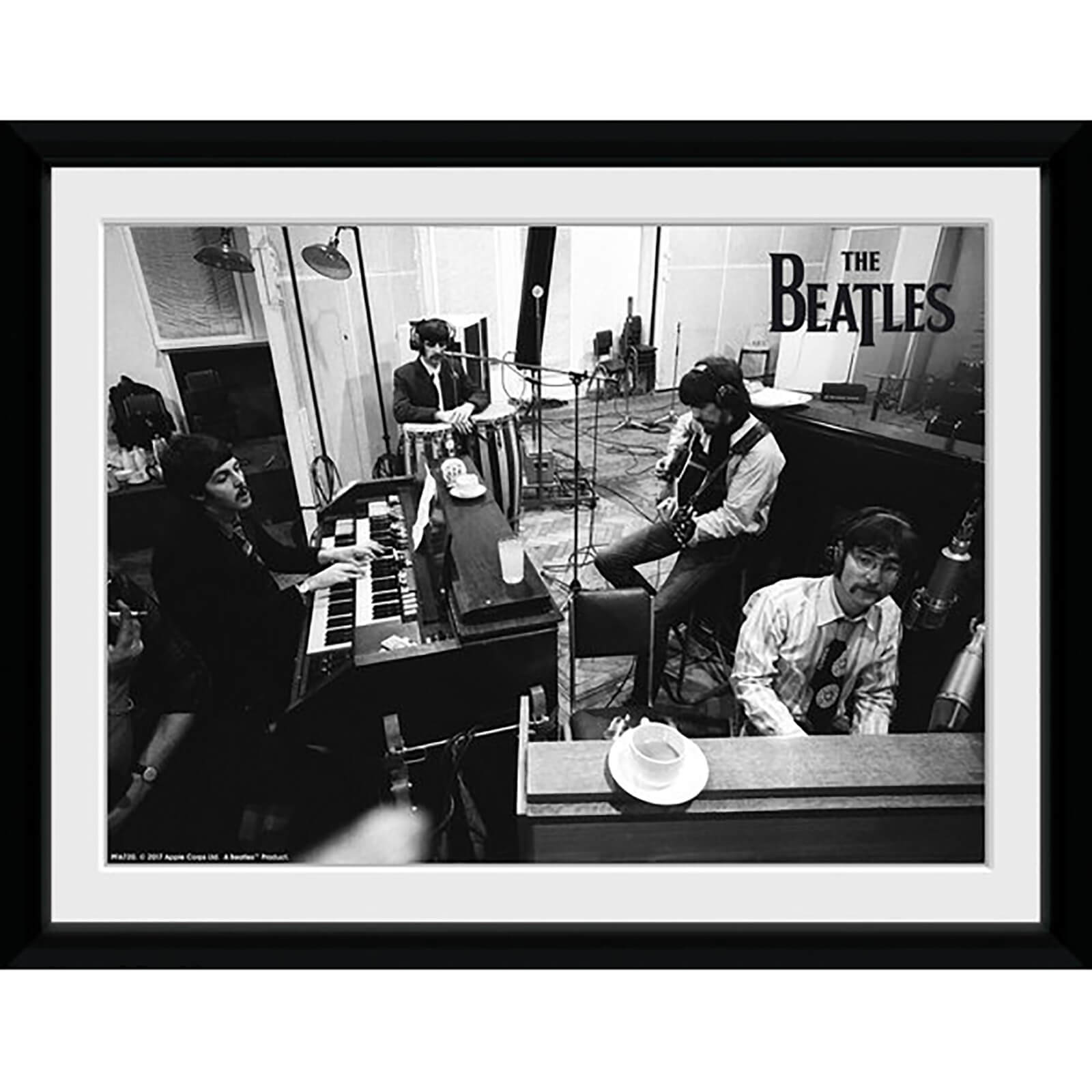 The Beatles Studio Framed Photograph 8 x 6 Inch
