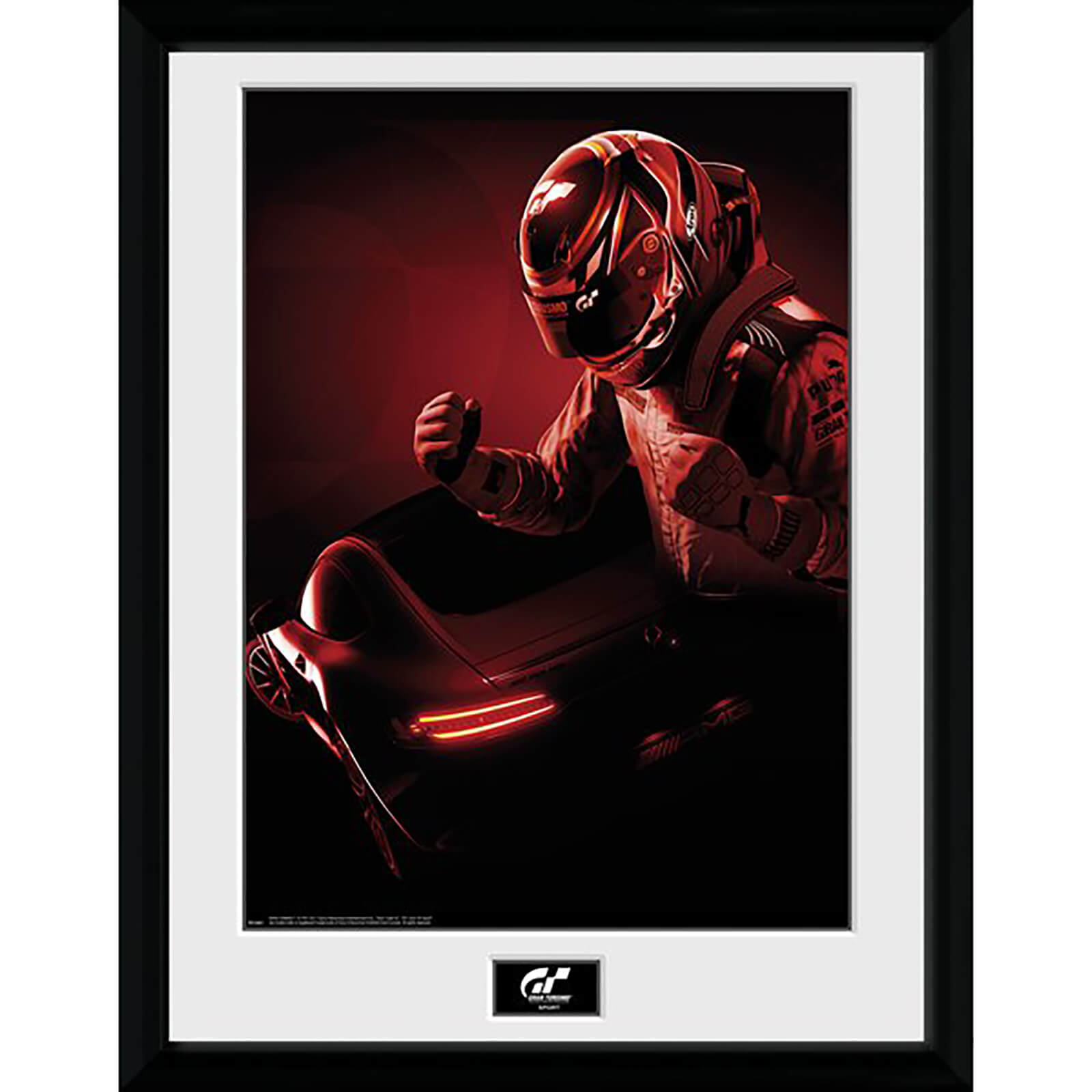 Gran Turismo Key Art Framed Photograph 12 x 16 Inch