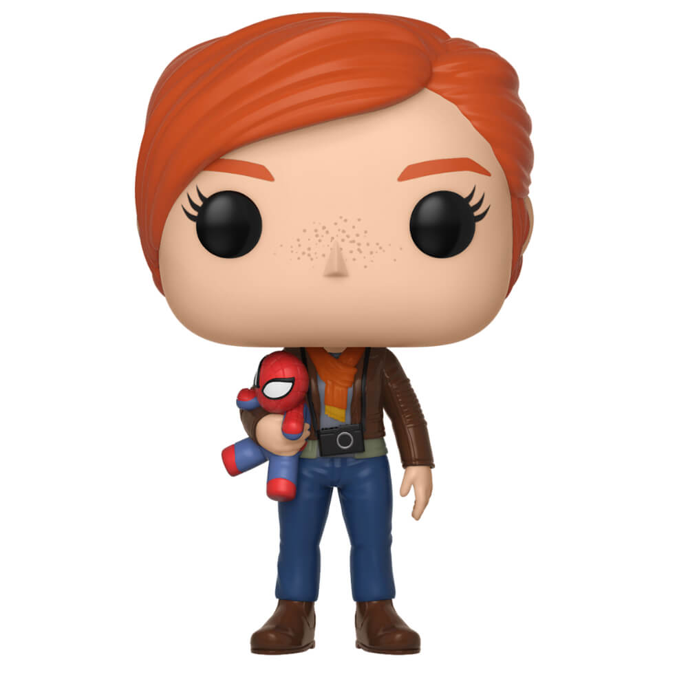 Marvel Spider Man Gamerverse Mary Jane With Plush Pop Vinyl Figure
