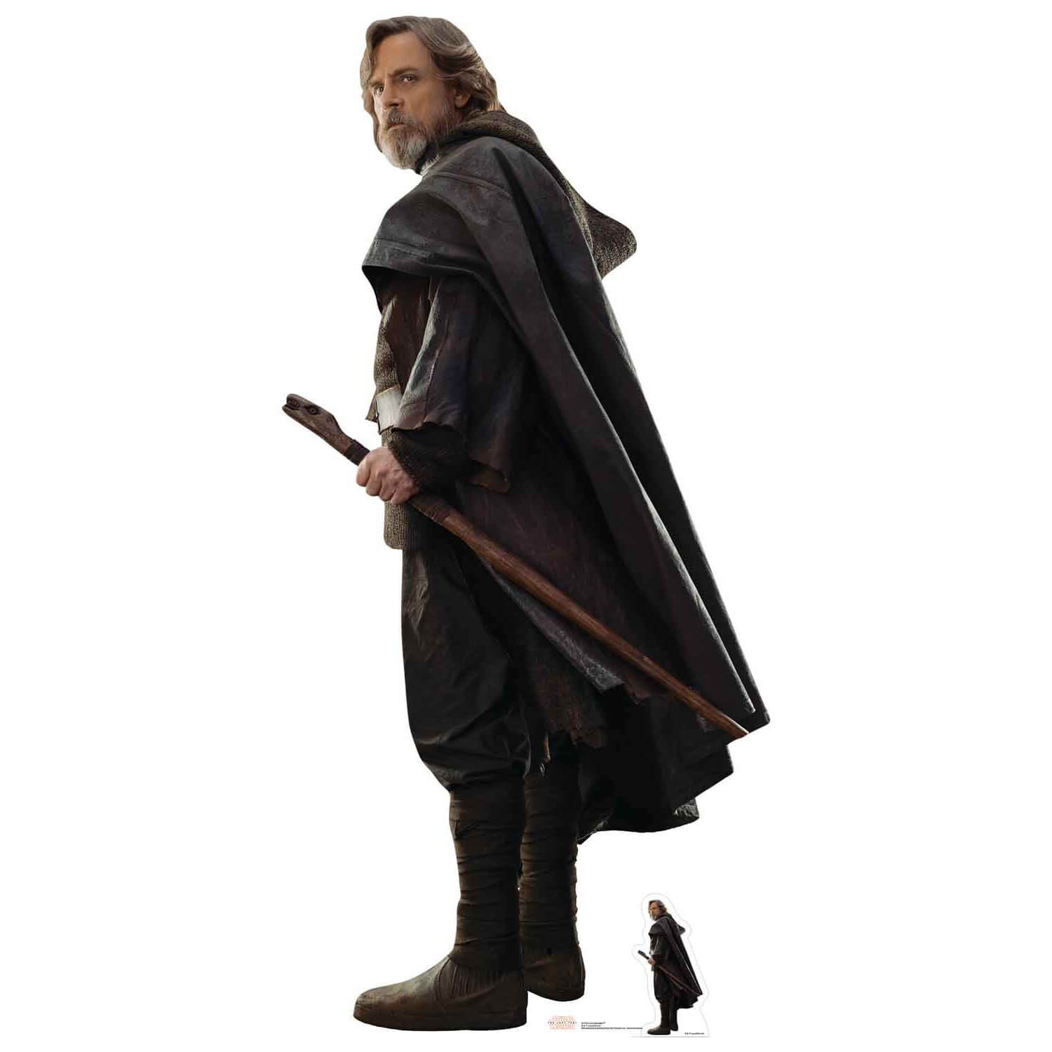Star Wars: The Last Jedi Luke Skywalker Life-Size Cut Out