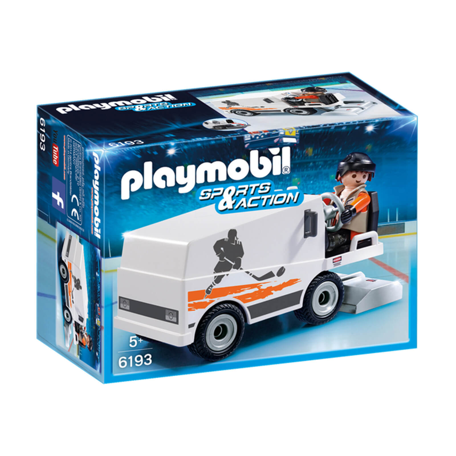 Playmobil Sports & Action Ice Resurfacer (6193)