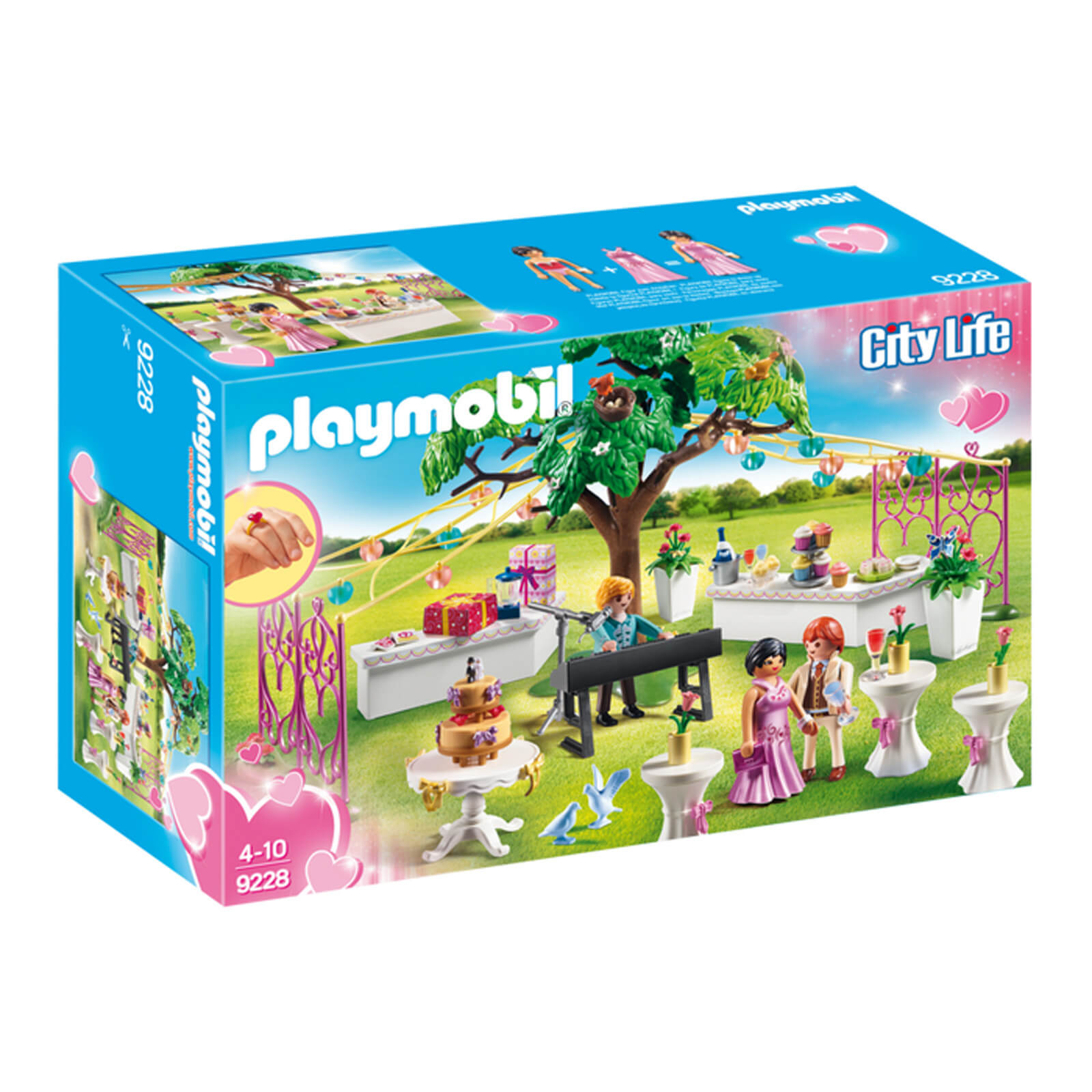 Playmobil City Life Wedding Reception with Children