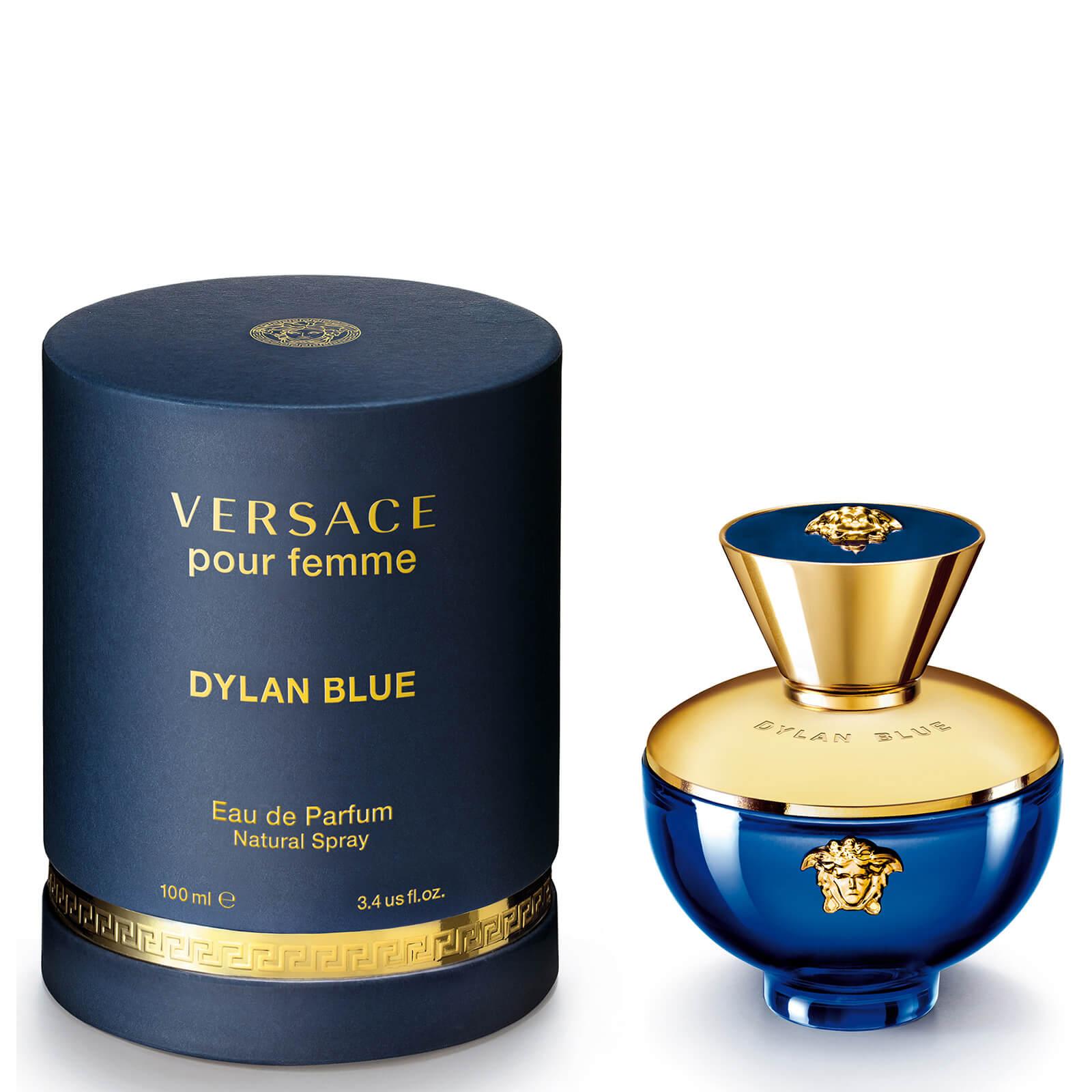 Versace Pour Femme Dylan Blue Eau De Parfum 100ml Free Shipping