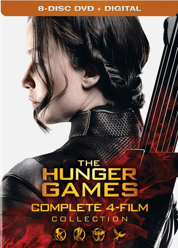 Hunger Games: Complete 4 Film Collection